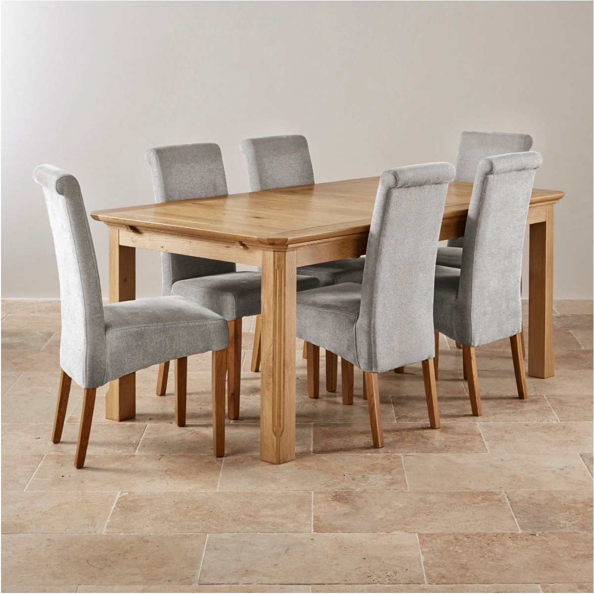 Oak Dining Tables With 6 Chairs In Popular Best Solid Oak Dining Table And 6 Chairs Solid Oak Dining Table And (View 11 of 25)
