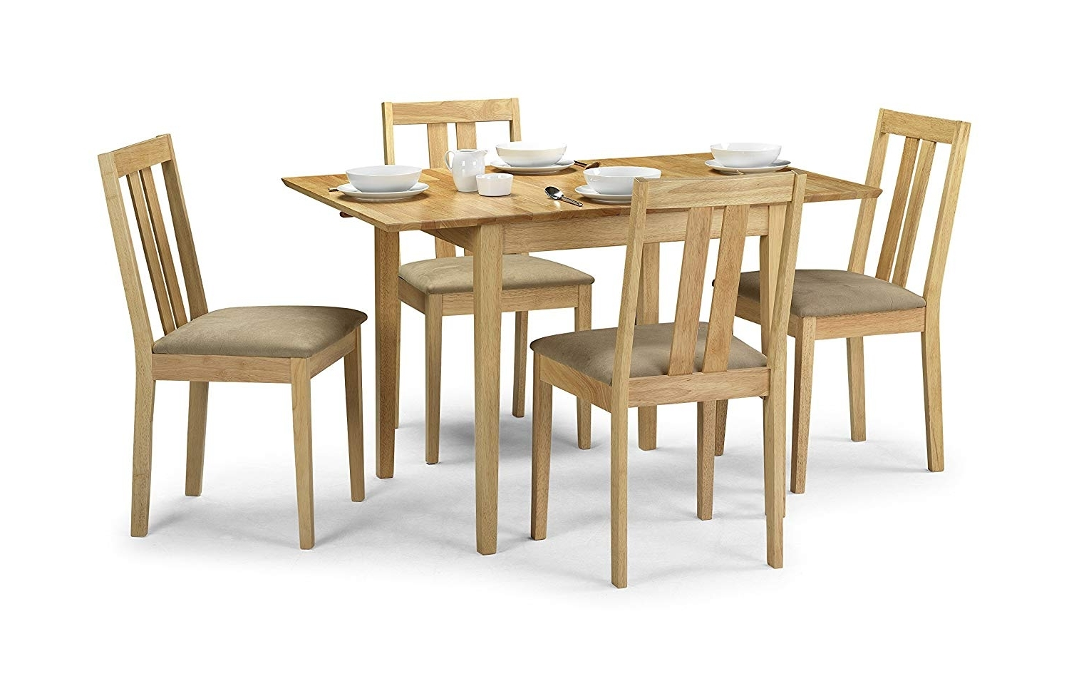 Featured Photo of Oak Extending Dining Tables And 4 Chairs