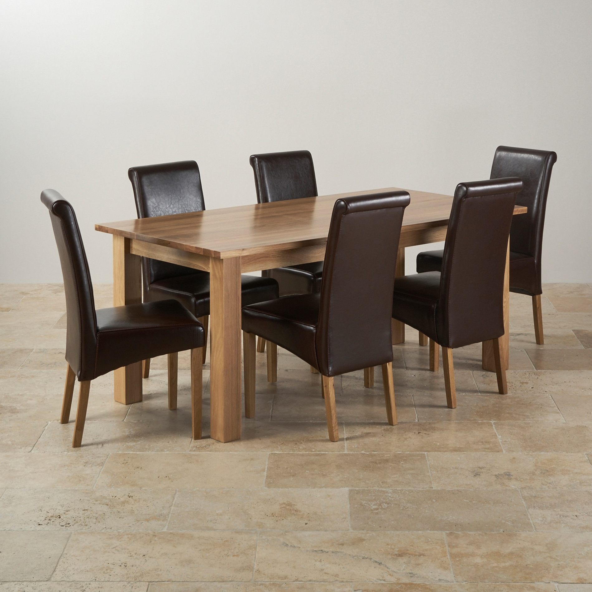 Oak Furniture Dining Sets For Most Recent Dining Room Tables Oak Furniture Land Ever X Wood Tufted Dining Room (View 15 of 25)