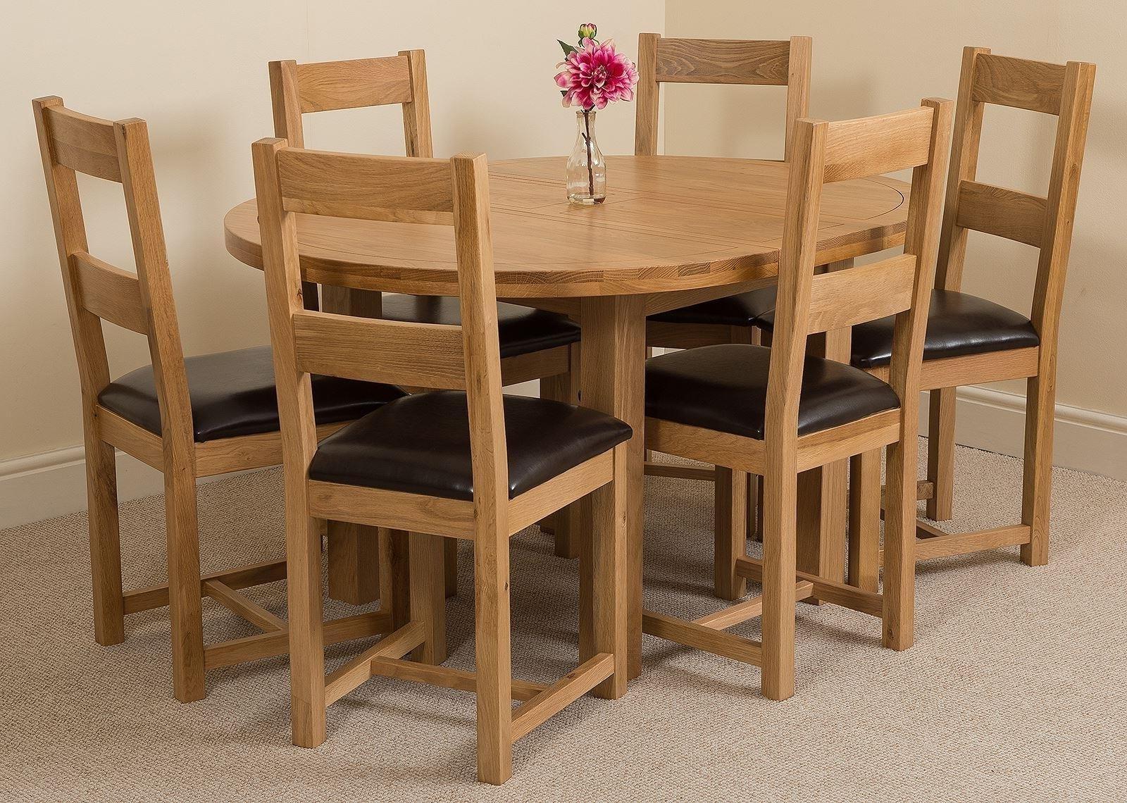 Oak Furniture King Inside Edmonton Dining Tables (View 20 of 25)