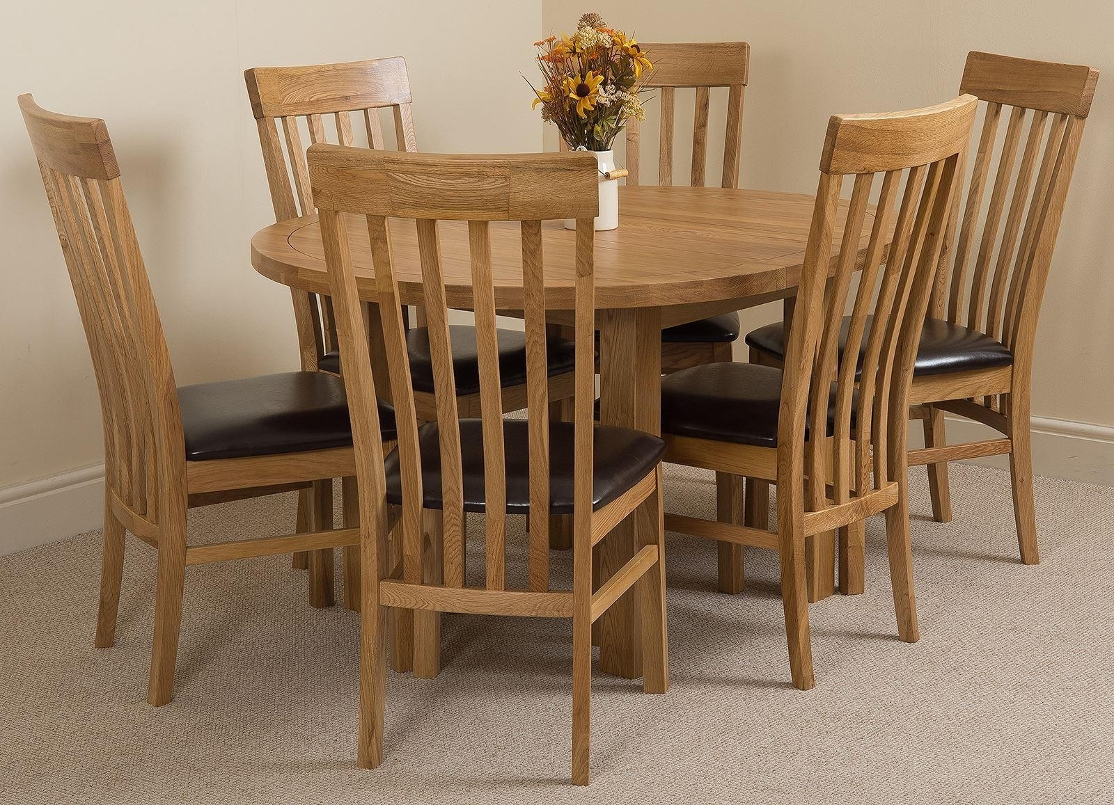 Oak Furniture King Pertaining To Well Liked Cheap Oak Dining Sets (View 7 of 25)