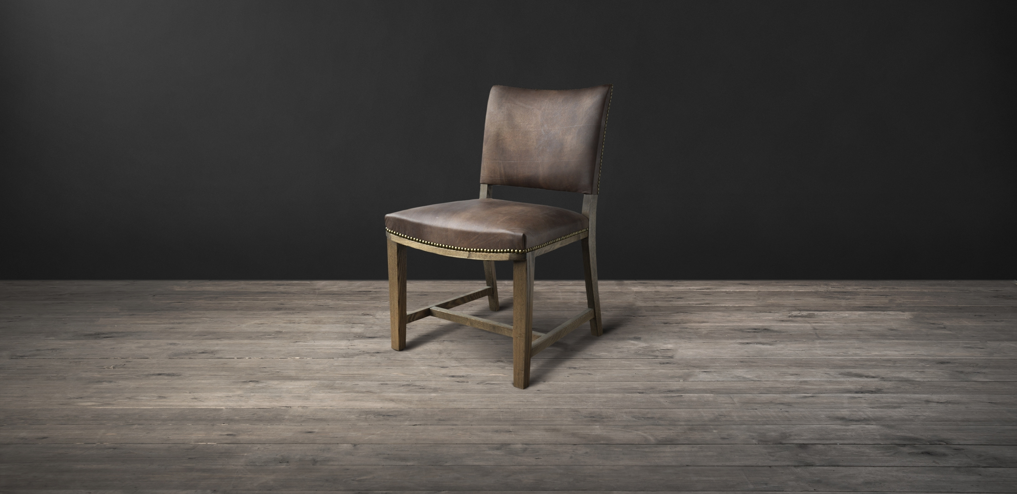 Oak Leather Dining Chairs For Most Up To Date Leather & Fabric Dining Chairs – Furniture (View 15 of 25)