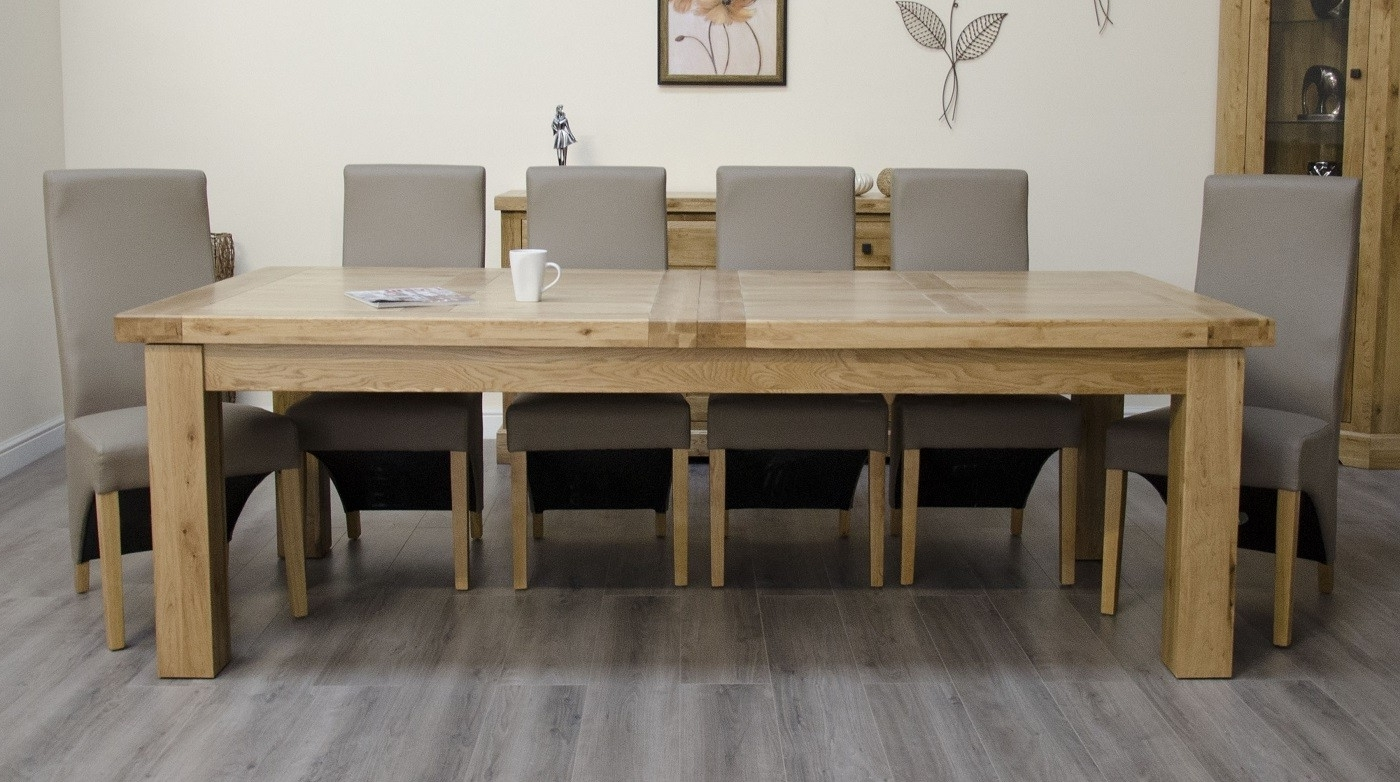 Oak With Regard To Rustic Oak Dining Tables (View 8 of 25)