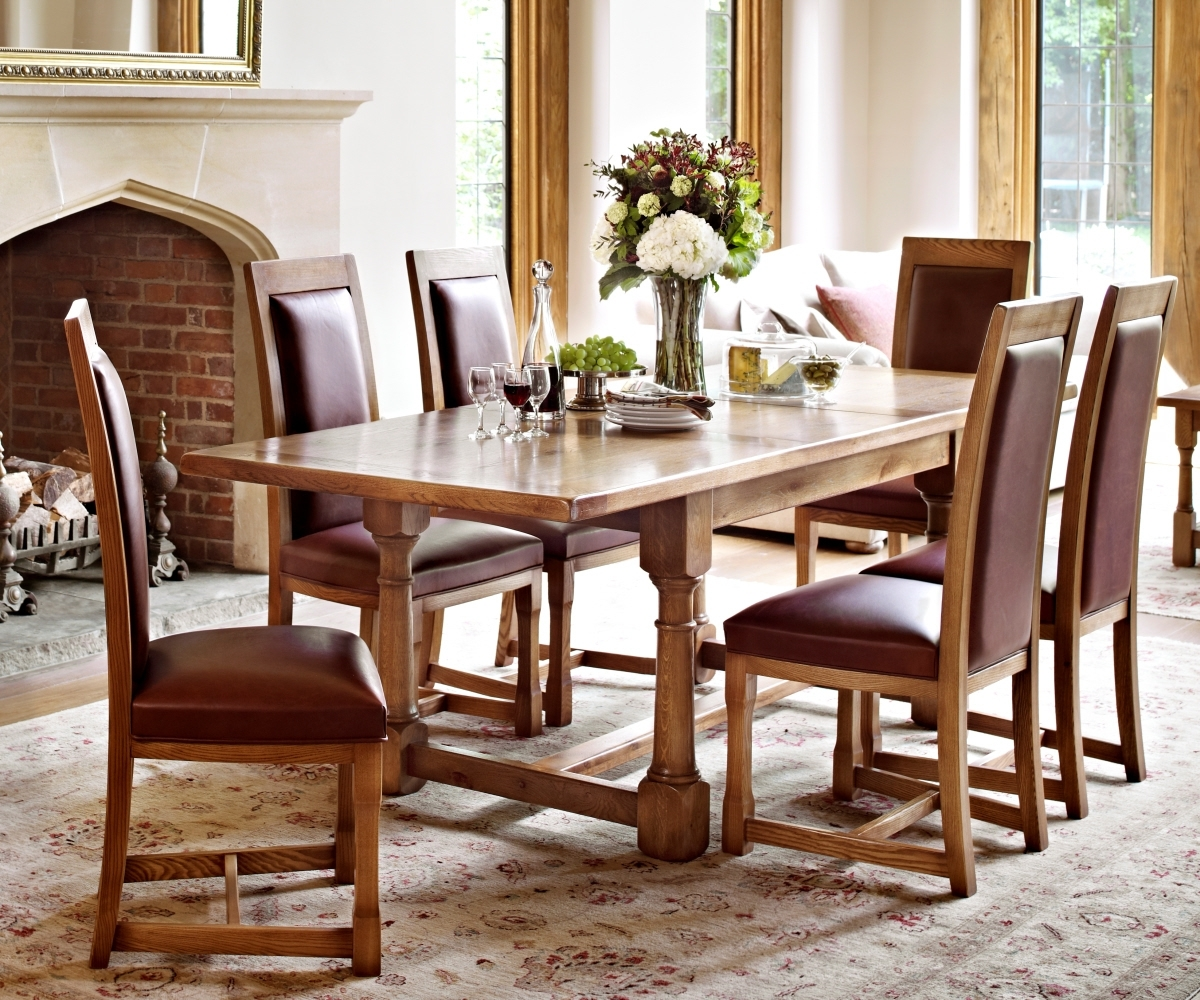 Old Charm Chatsworth 2873 Extending Dining Table – Dining Tables Inside 2018 Chatsworth Dining Tables (View 18 of 25)