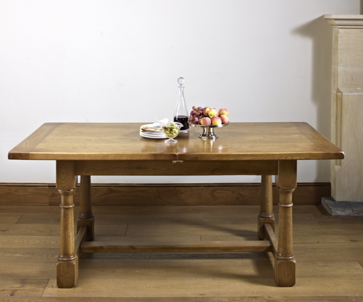 Old Charm Chatsworth 2873 Extending Dining Table – Dining Tables Intended For Current Chatsworth Dining Tables (View 19 of 25)