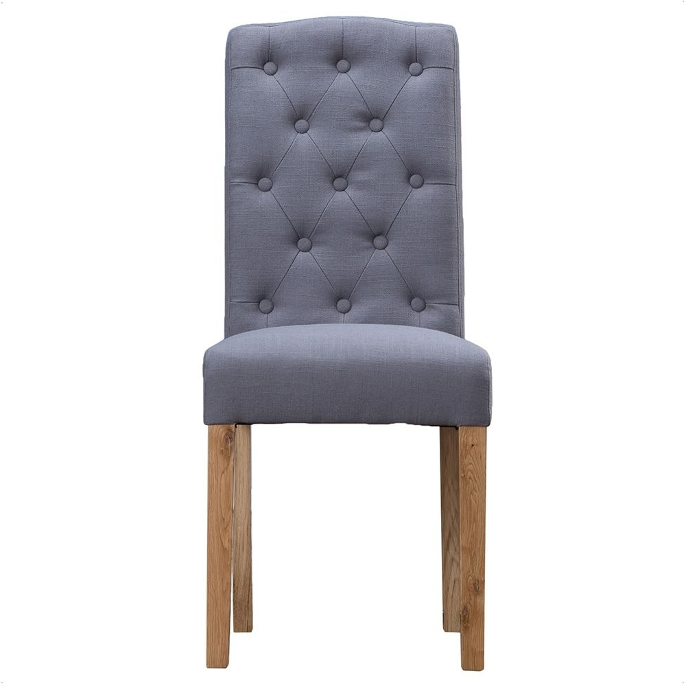 Oldrids & Downtown In Most Recently Released Button Back Dining Chairs (View 18 of 25)