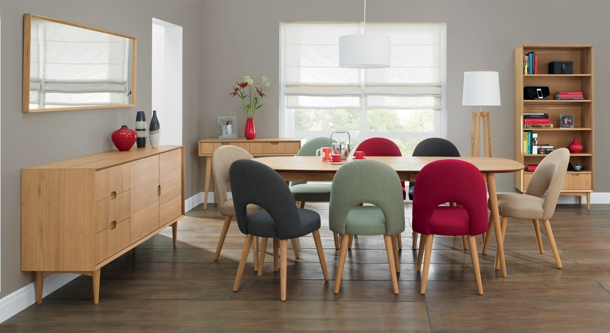 Oslo Oak 6 8 Seater Extending Dining Table – Style Our Home Inside 2017 8 Seater Oak Dining Tables (View 16 of 25)