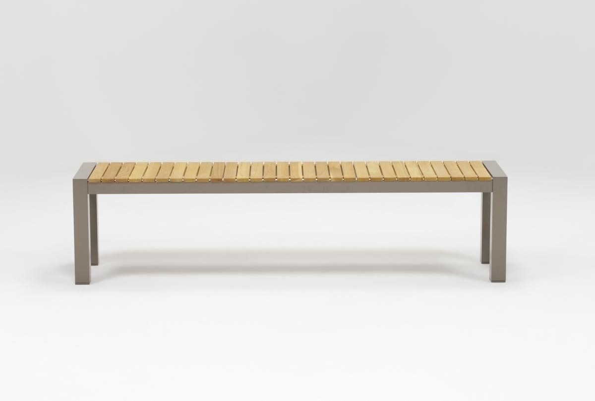 Outdoor Brasilia Teak Dining Bench (View 6 of 25)