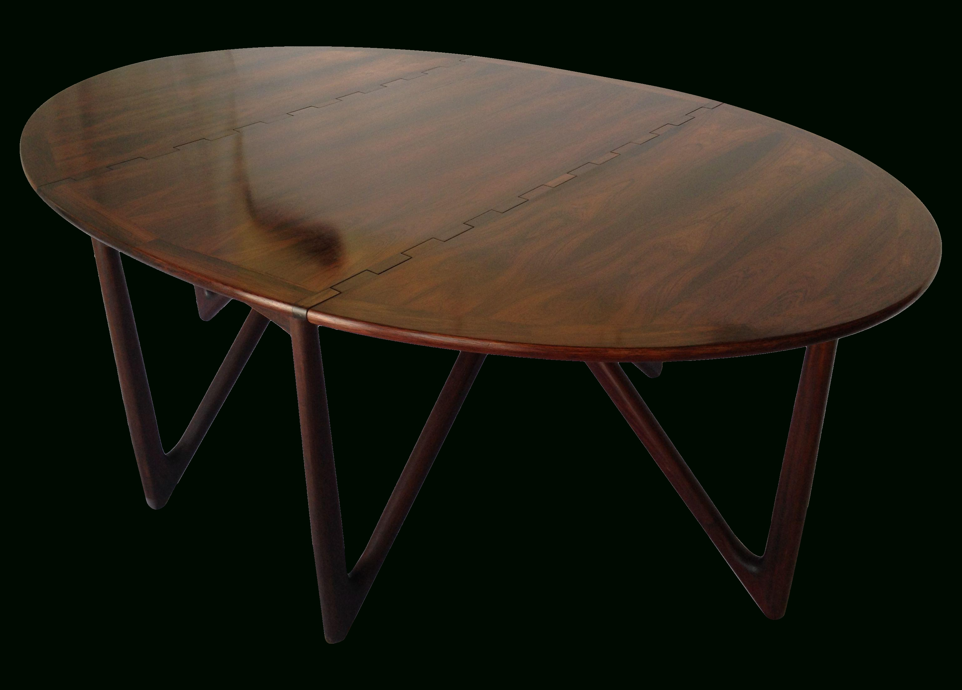 Oval Folding Dining Tables Pertaining To Well Liked Furniture (View 8 of 25)