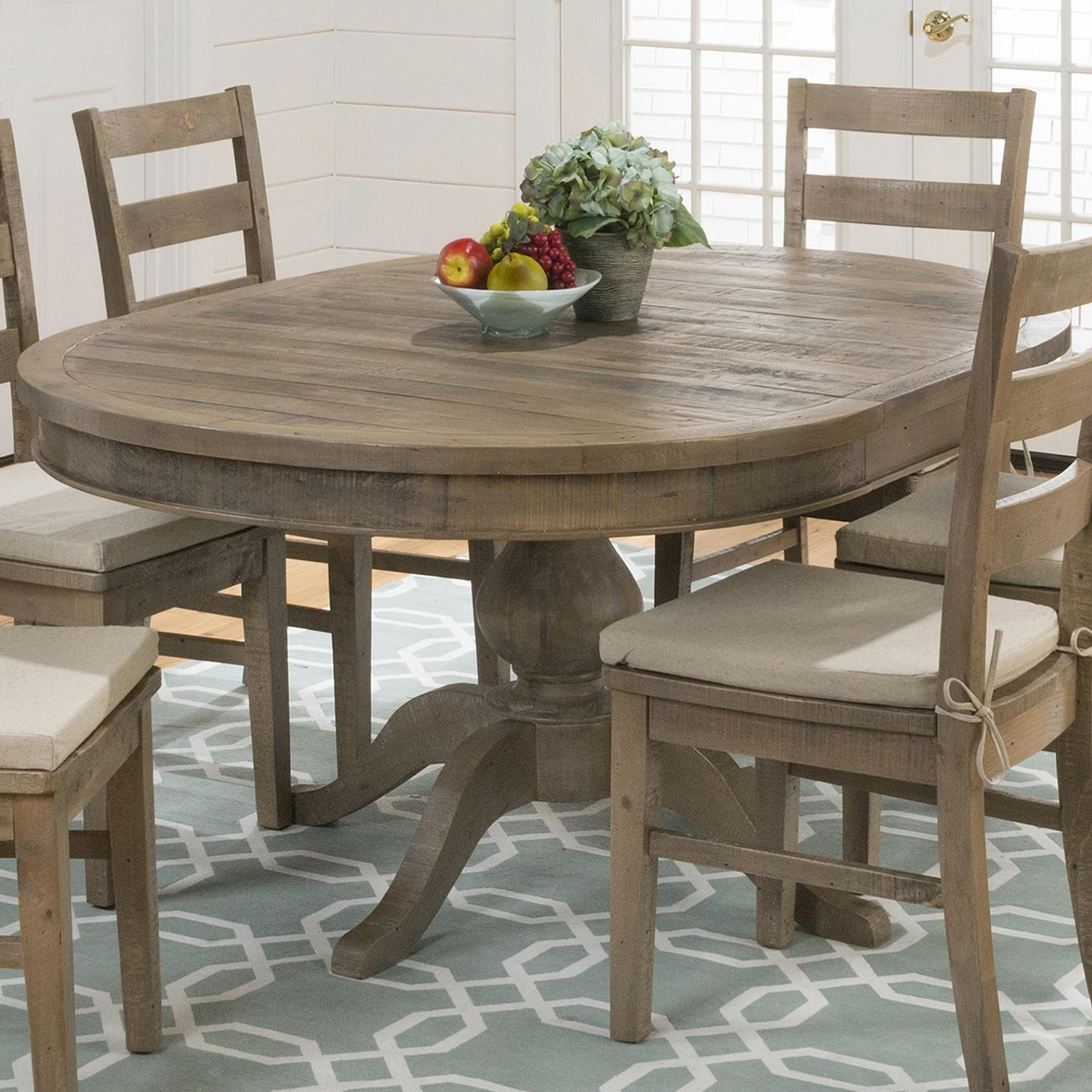 Oval Reclaimed Wood Dining Tables In Latest Viking Dining Table, Reclaimed Pine Furniture Jofran Reclaimed Pine (View 15 of 25)