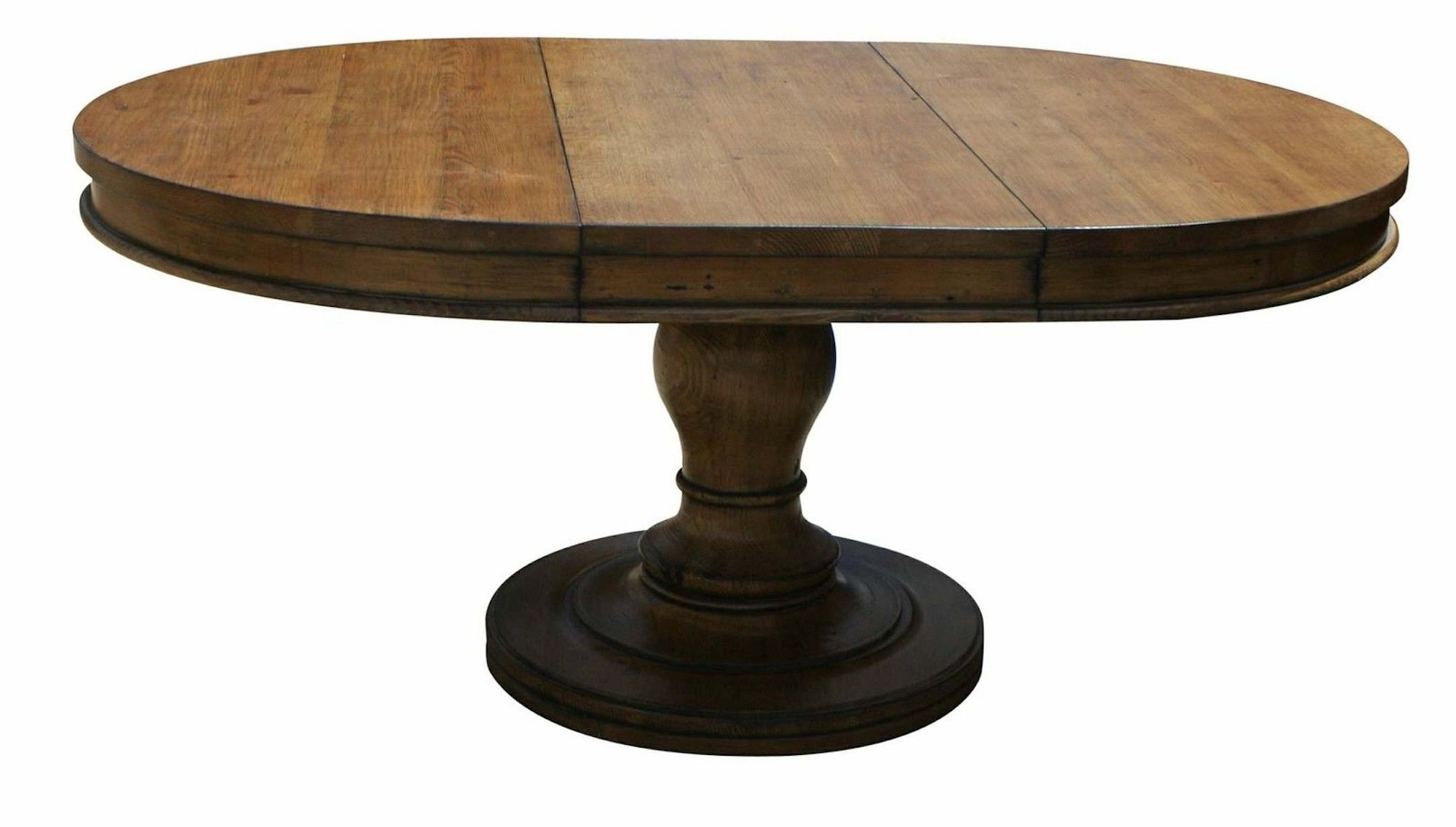 Oval Reclaimed Wood Dining Tables With Regard To Most Popular Appealing Oval Brown Lacquered Extendable Teak Wood Dining Table (View 15 of 25)