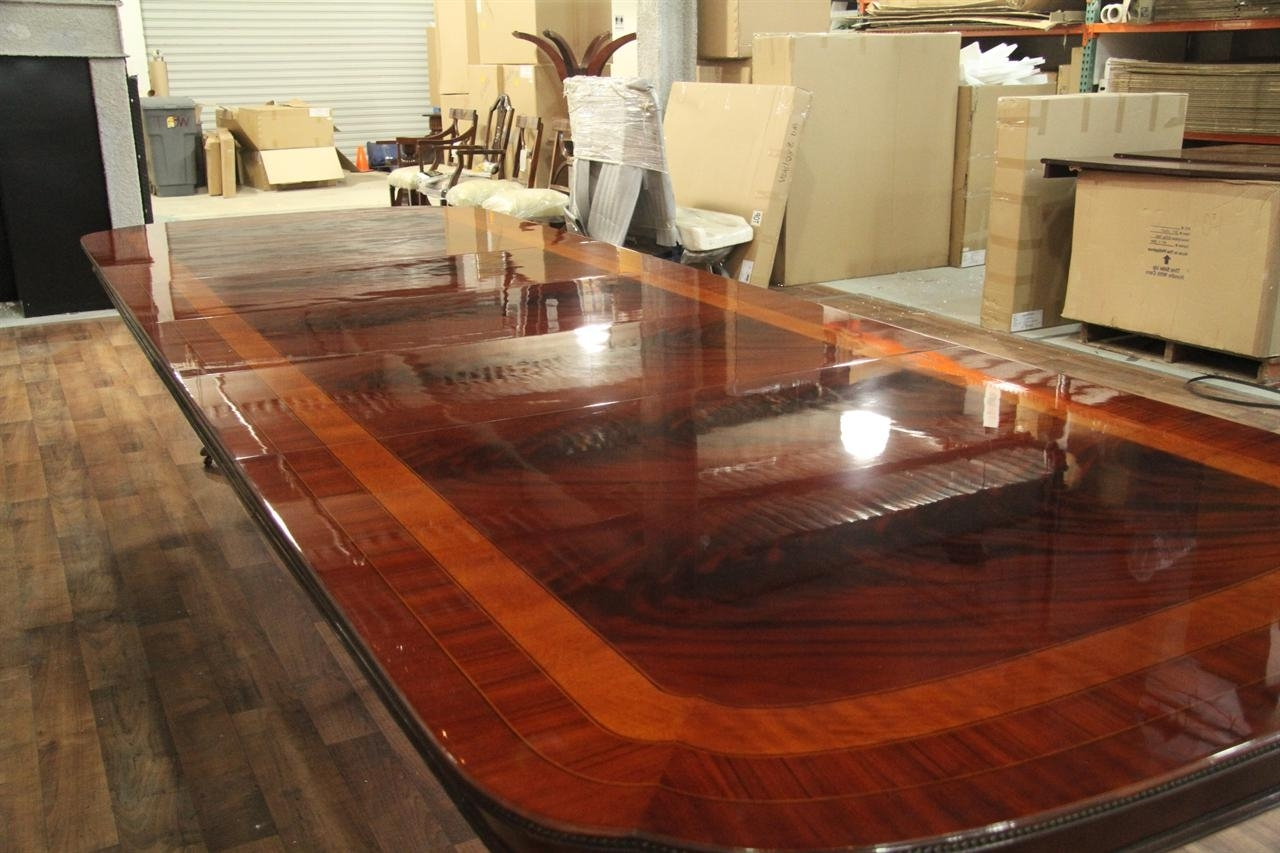 Oversized Dining Room Tables: Images And Photos Objects – Hit Interiors Inside Most Popular Big Dining Tables For Sale (View 11 of 25)