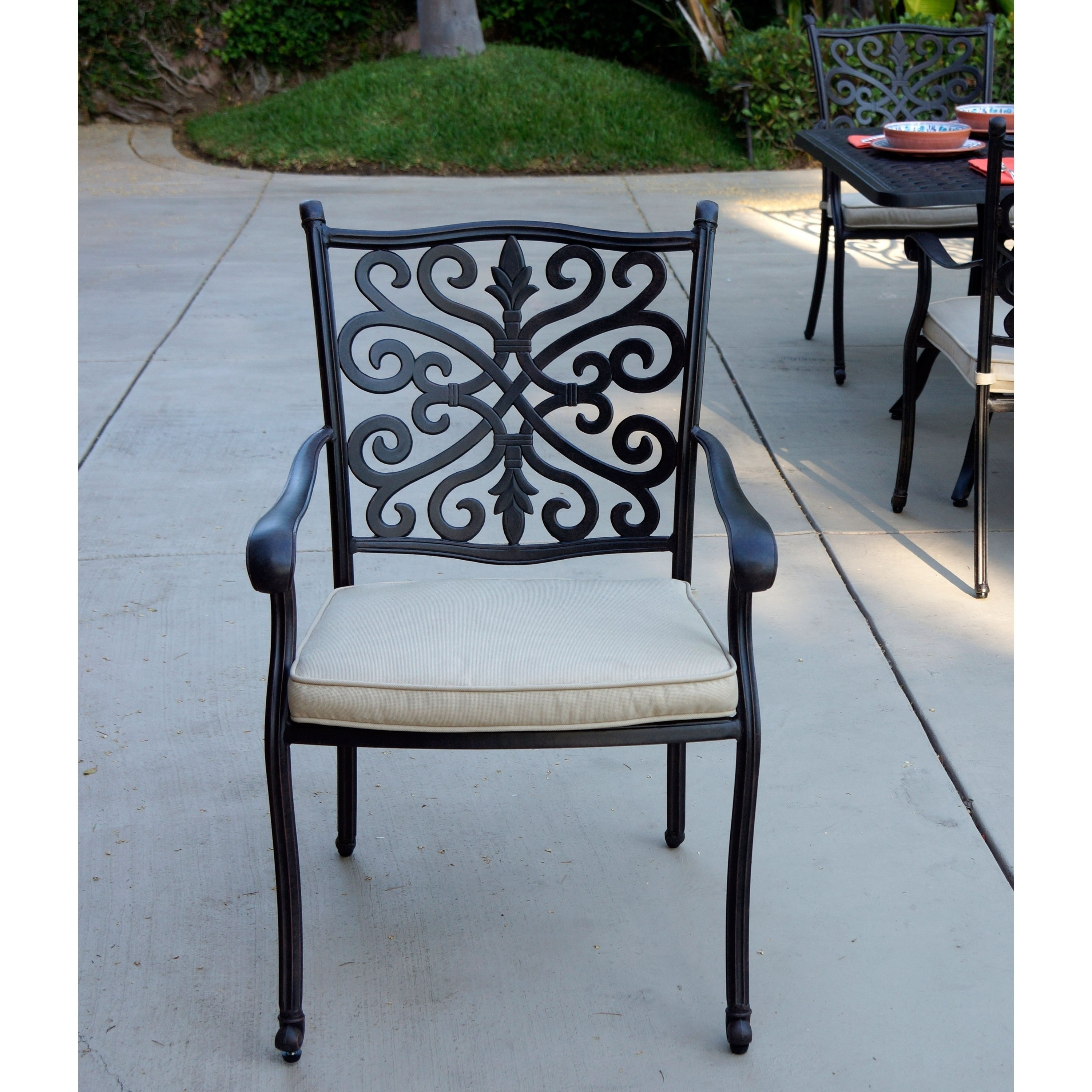 Overstock With Most Current Valencia 72 Inch 7 Piece Dining Sets (View 12 of 25)