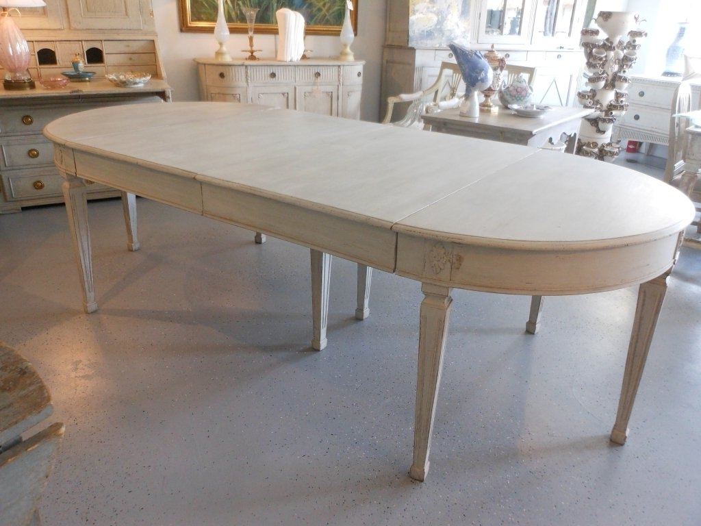 Painted Dining Tables In Widely Used 19Th Century Antique Swedish Painted Dining Table At 1Stdibs (Gallery 15 of 25)