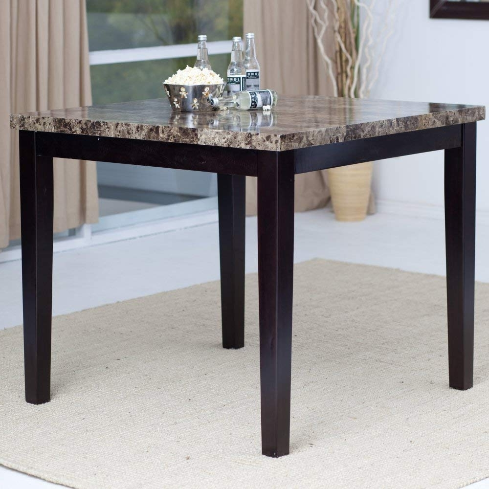 Palazzo 3 Piece Dining Table Sets Inside Well Liked Amazon – Palazzo Counter Height Dining Table – Tables (View 12 of 25)