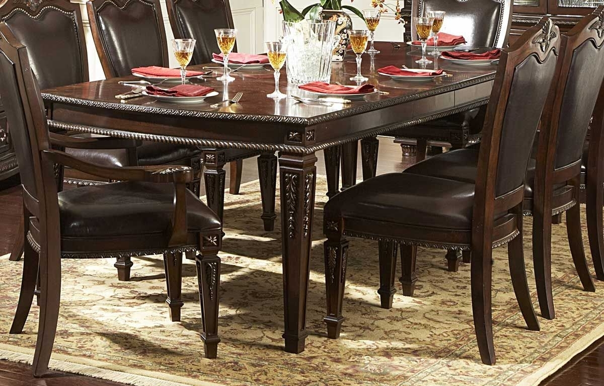 Palazzo 7 Piece Rectangle Dining Sets With Joss Side Chairs Intended For Most Popular Homelegance Dining Table – Http://www (View 13 of 25)