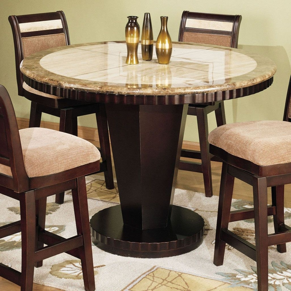 Palazzo 9 Piece Dining Sets With Pearson White Side Chairs With Regard To Well Known Small Pub Table With Dining Room Ideas (View 20 of 25)