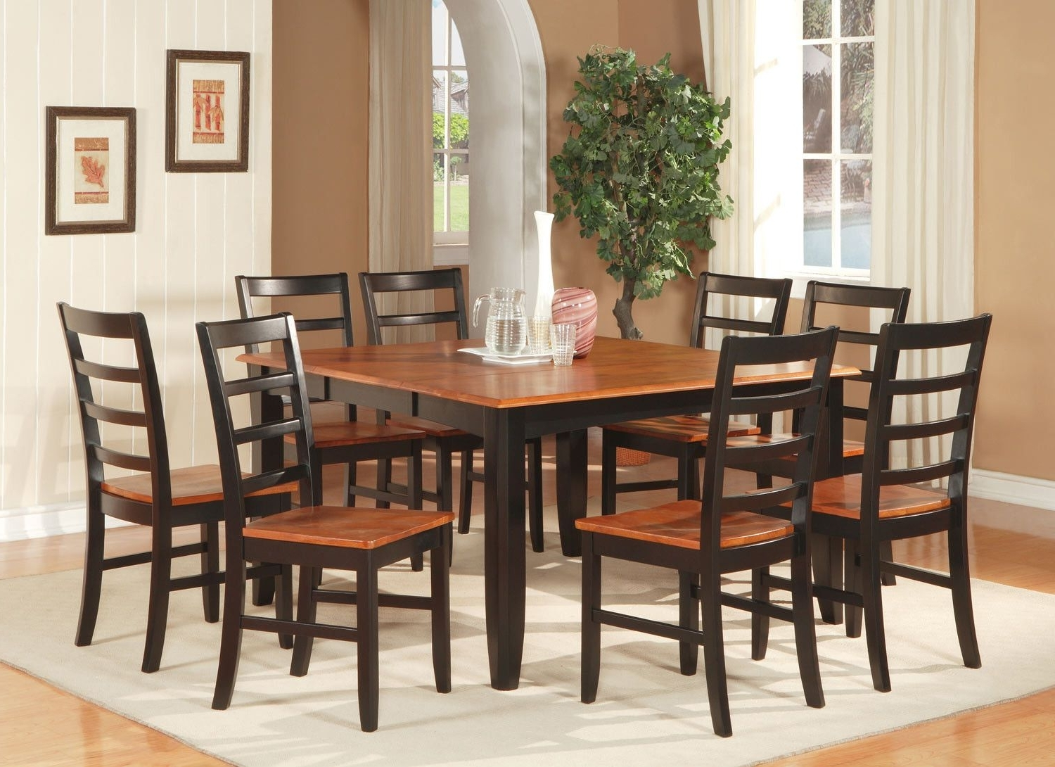 Parfait 7 Piece Dining Set In  (View 18 of 25)