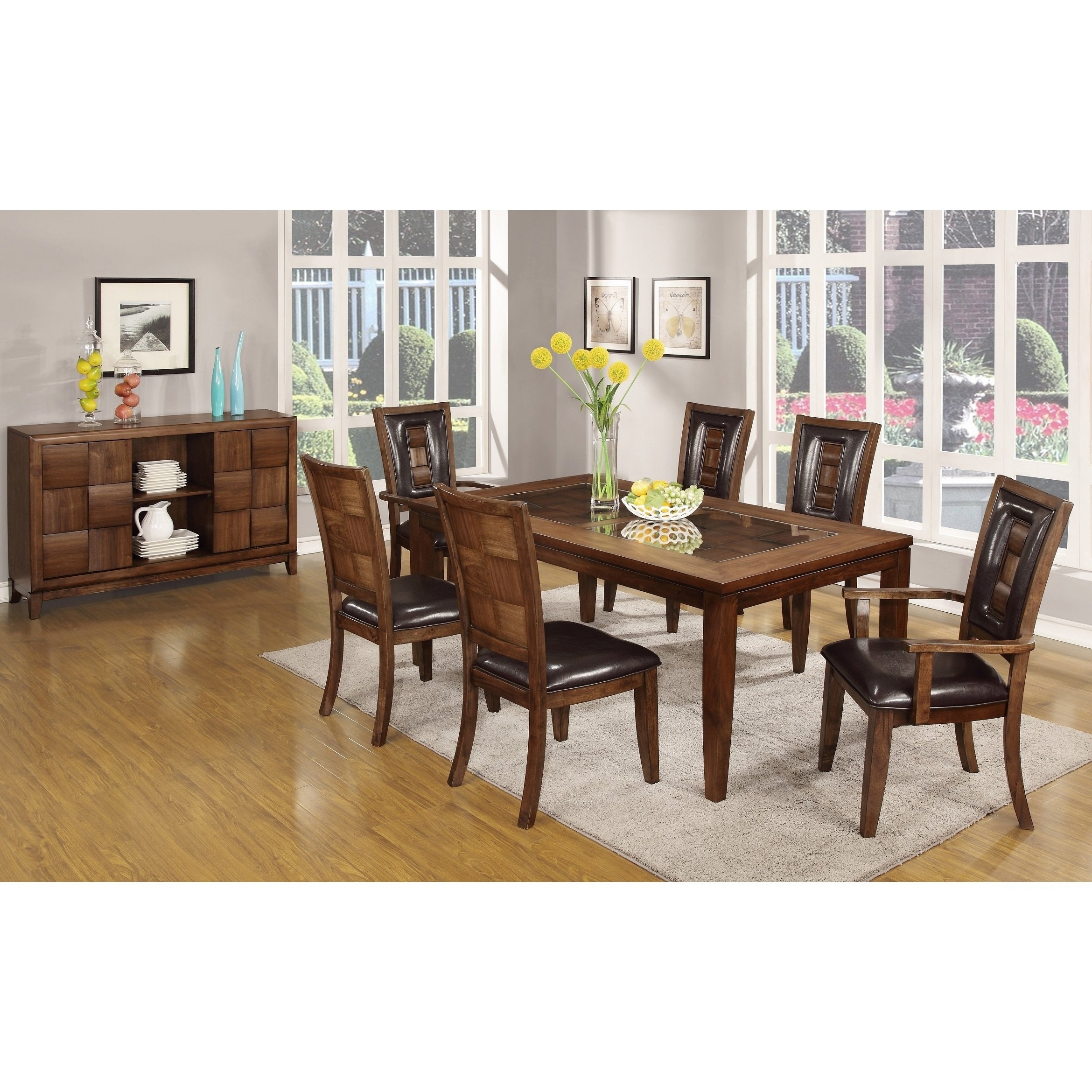 Featured Photo of Parquet 6 Piece Dining Sets