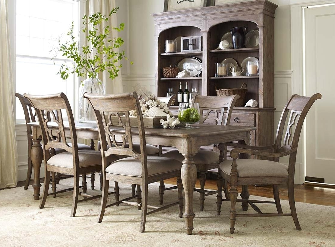 Partridge 7 Piece Dining Sets Inside Famous Breathtaking 7 Piece Dining Set With Bench Tips (View 14 of 25)