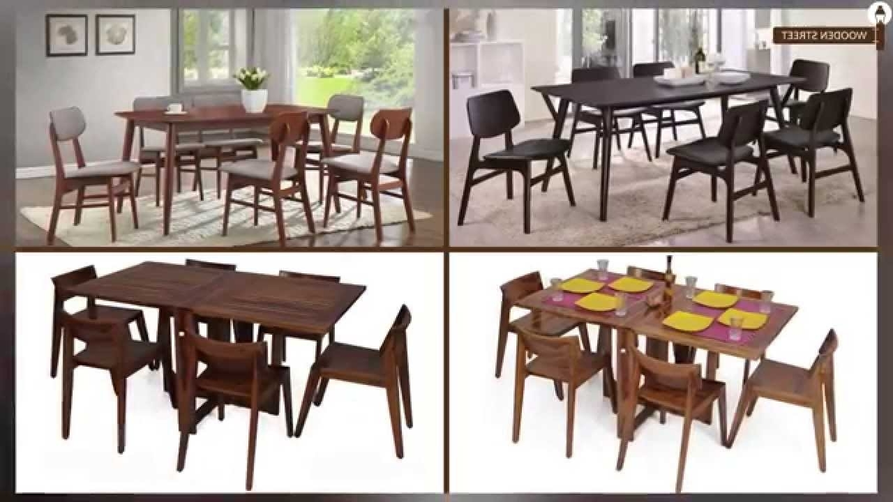 Patterson 6 Piece Dining Sets Inside Well Liked Dining Table – Dining Table Set 6 Seater Online @ Wooden Street (View 19 of 25)