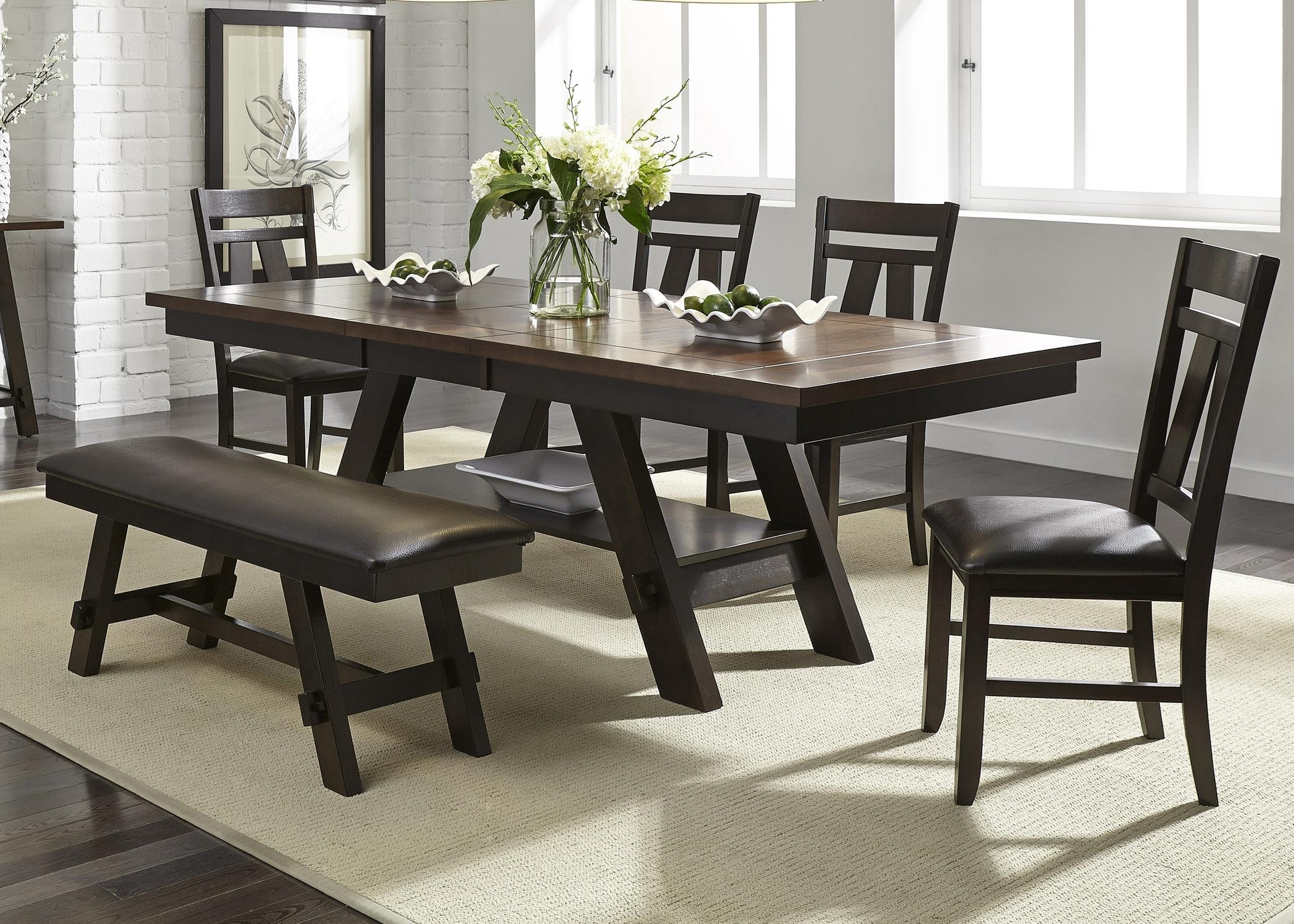 Patterson 6 Piece Dining Sets Within Most Up To Date Dinning Room (View 9 of 25)