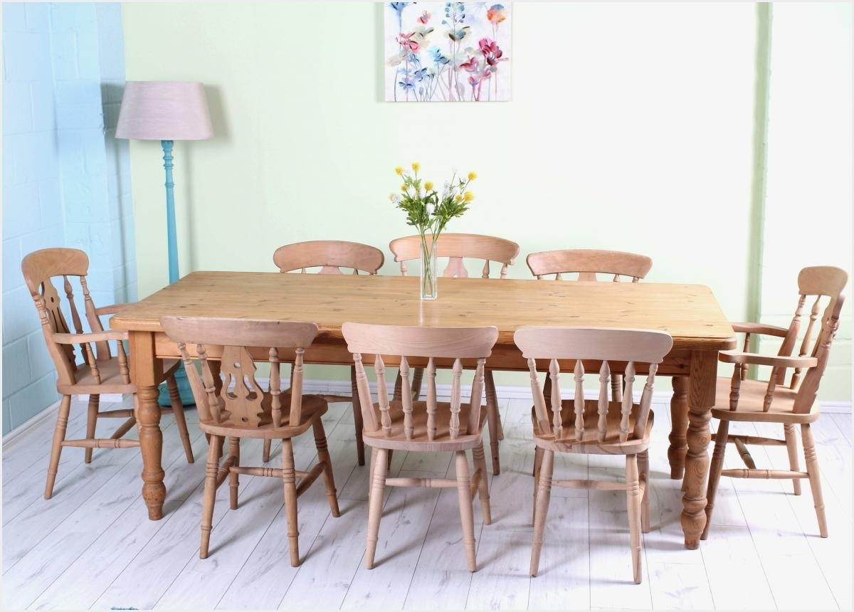 Pedestal Dining Tables And Chairs Within 2017 Amish Made Dining Room Chairs Elegant Maple Double Pedestal Dining (Gallery 22 of 25)