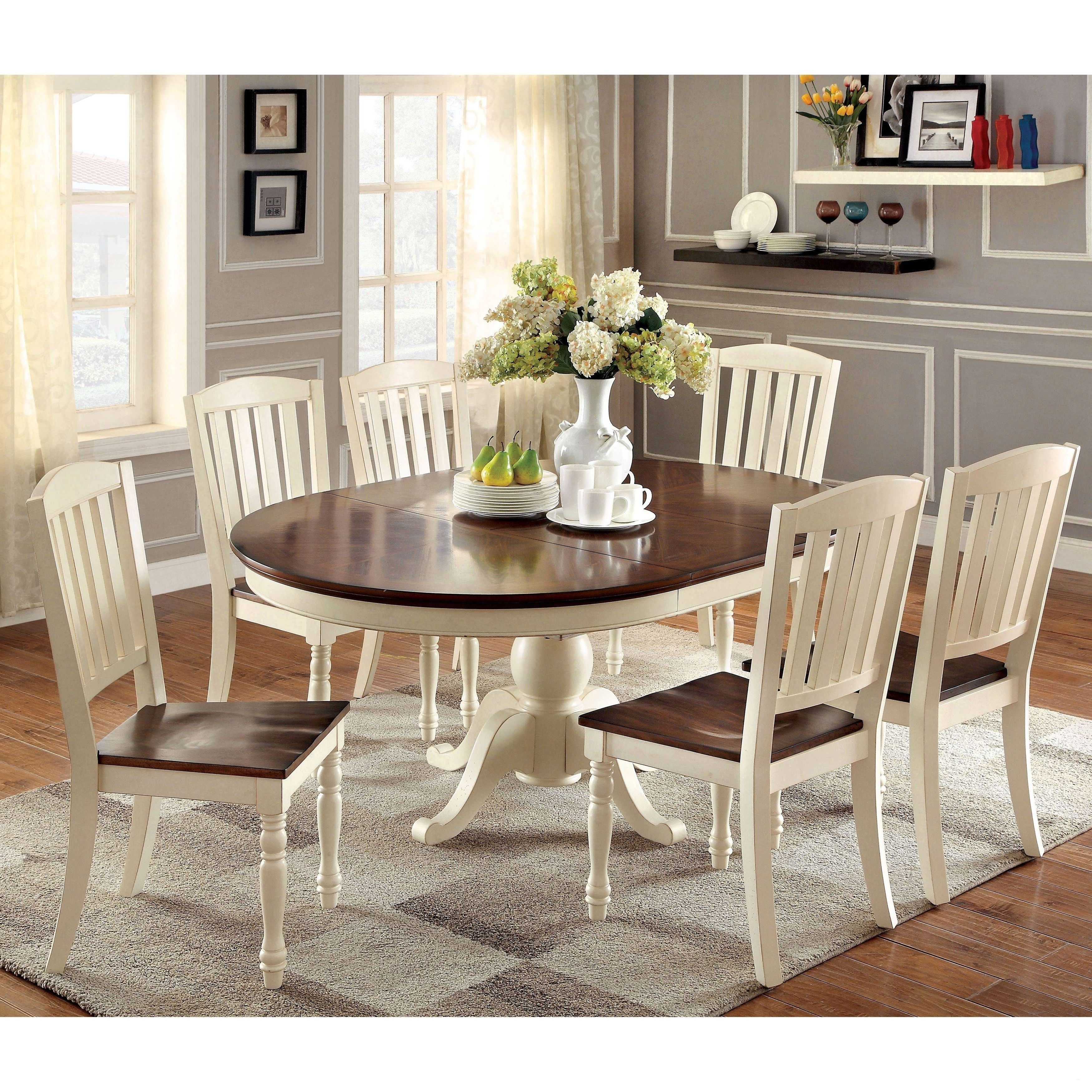 Pedestal Extending Dining Table Luxury Round Extension Dining Table Pertaining To 2018 Round Extending Dining Tables Sets (View 14 of 25)