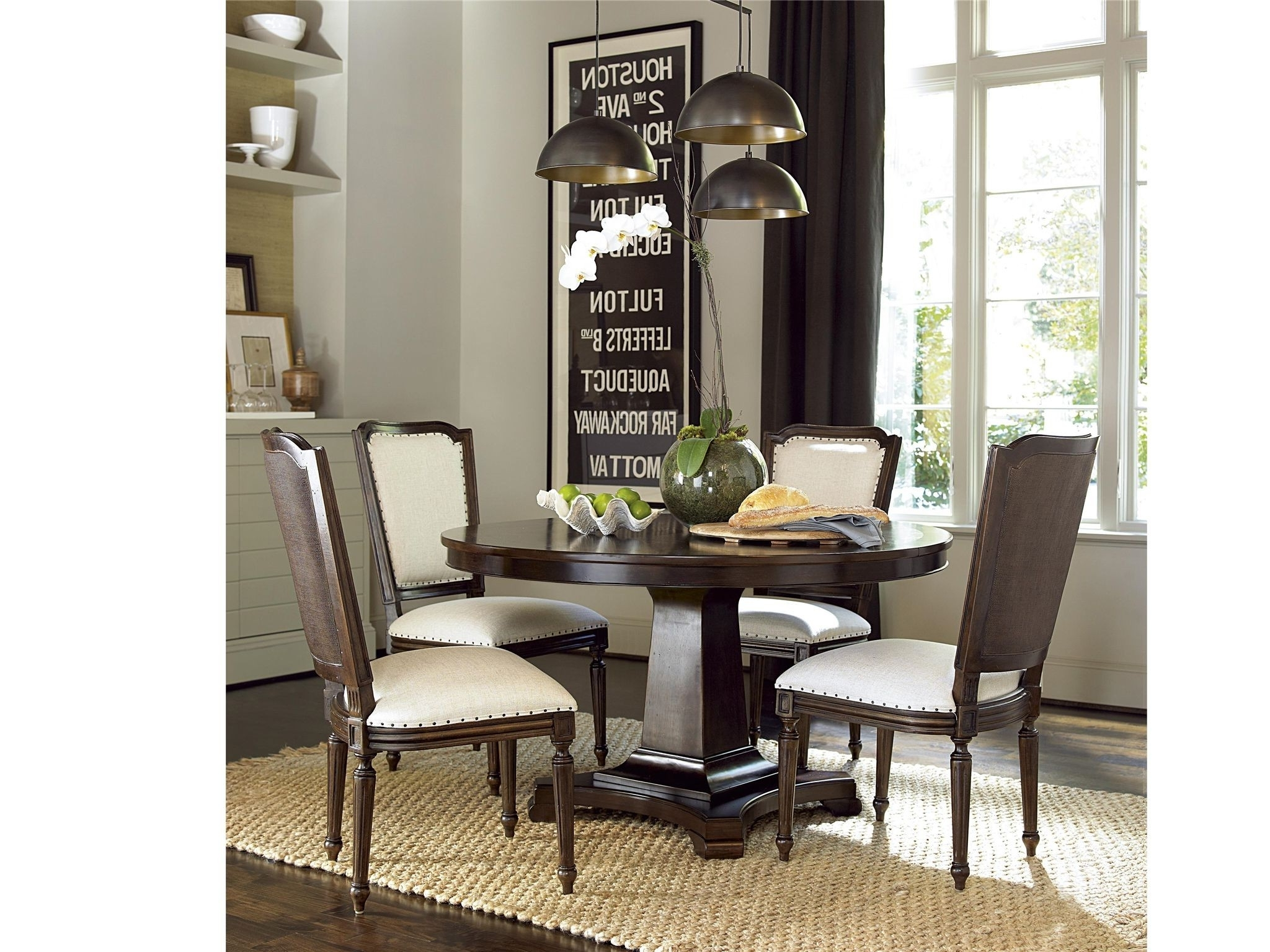 Pedestals For Dining Tables Inspirational Universal Proximity For Popular Caira Extension Pedestal Dining Tables (View 18 of 25)