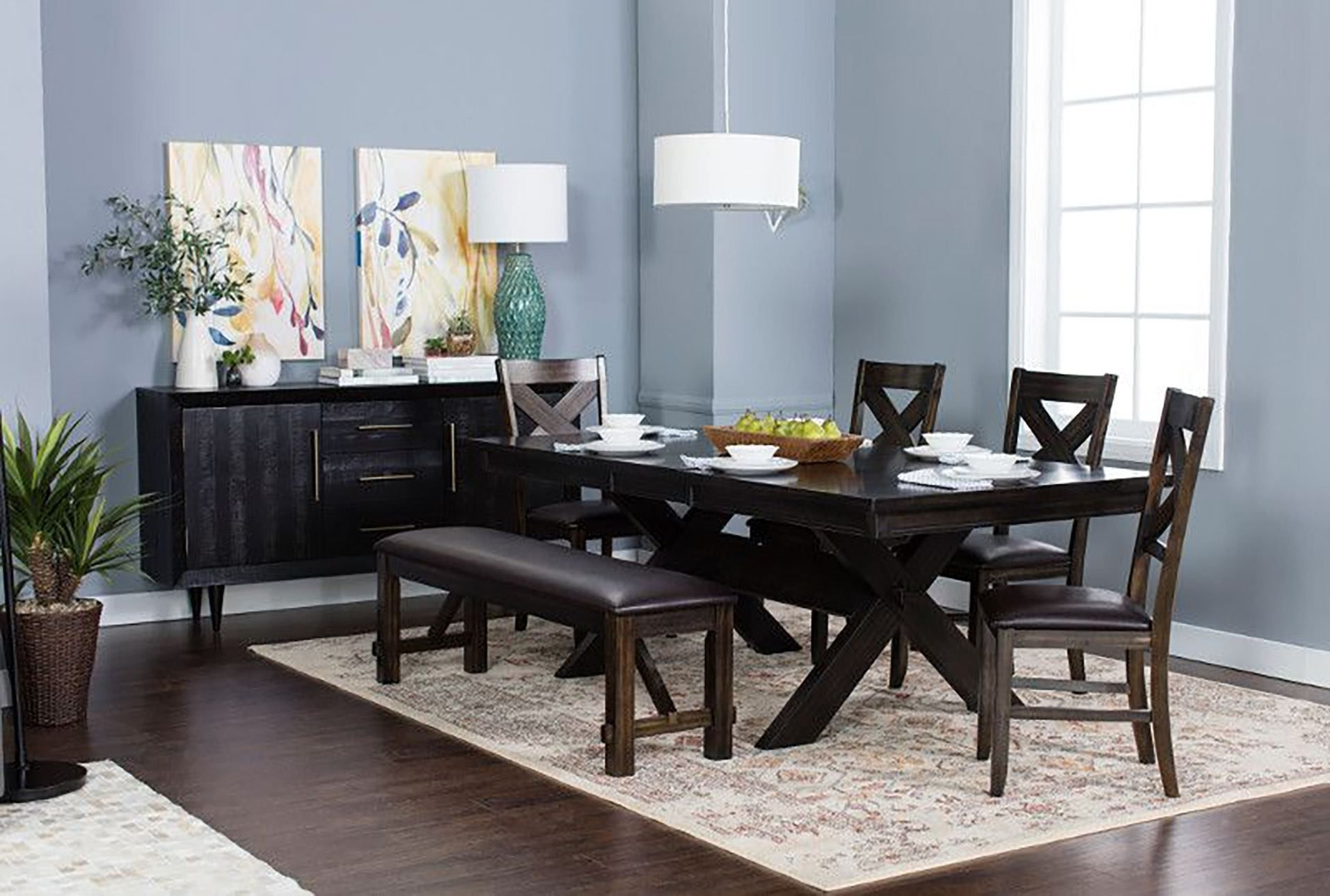 Pelennor 6 Piece Extension Dining Set (View 11 of 25)