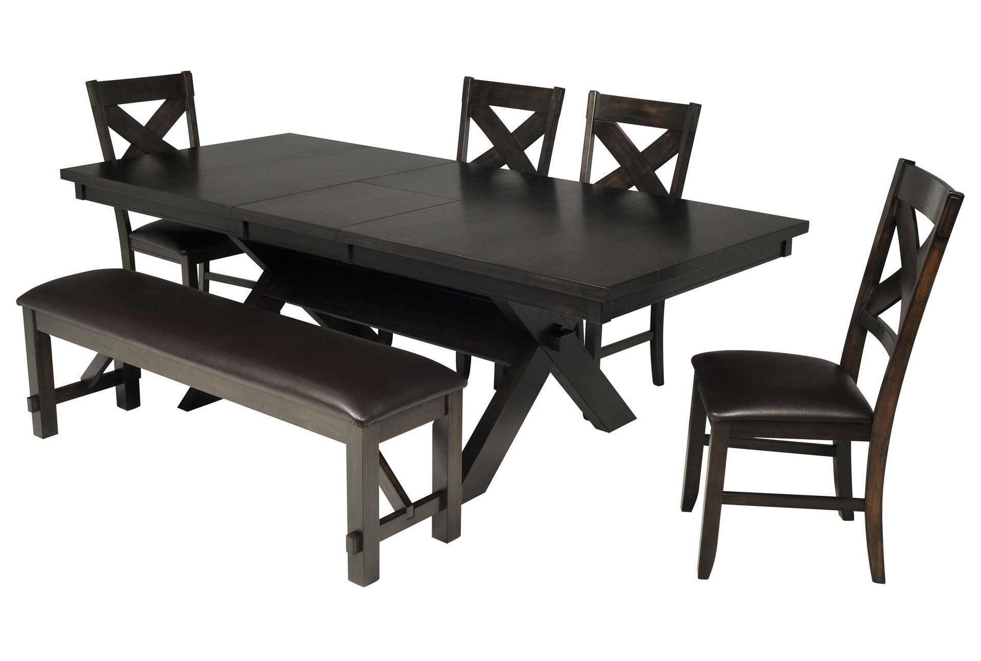 Pelennor 6 Piece Extension Dining Set (View 17 of 25)