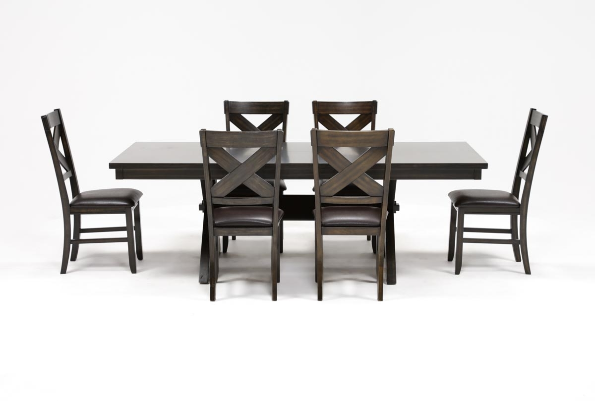 Pelennor 7 Piece Extension Dining Set (View 18 of 25)