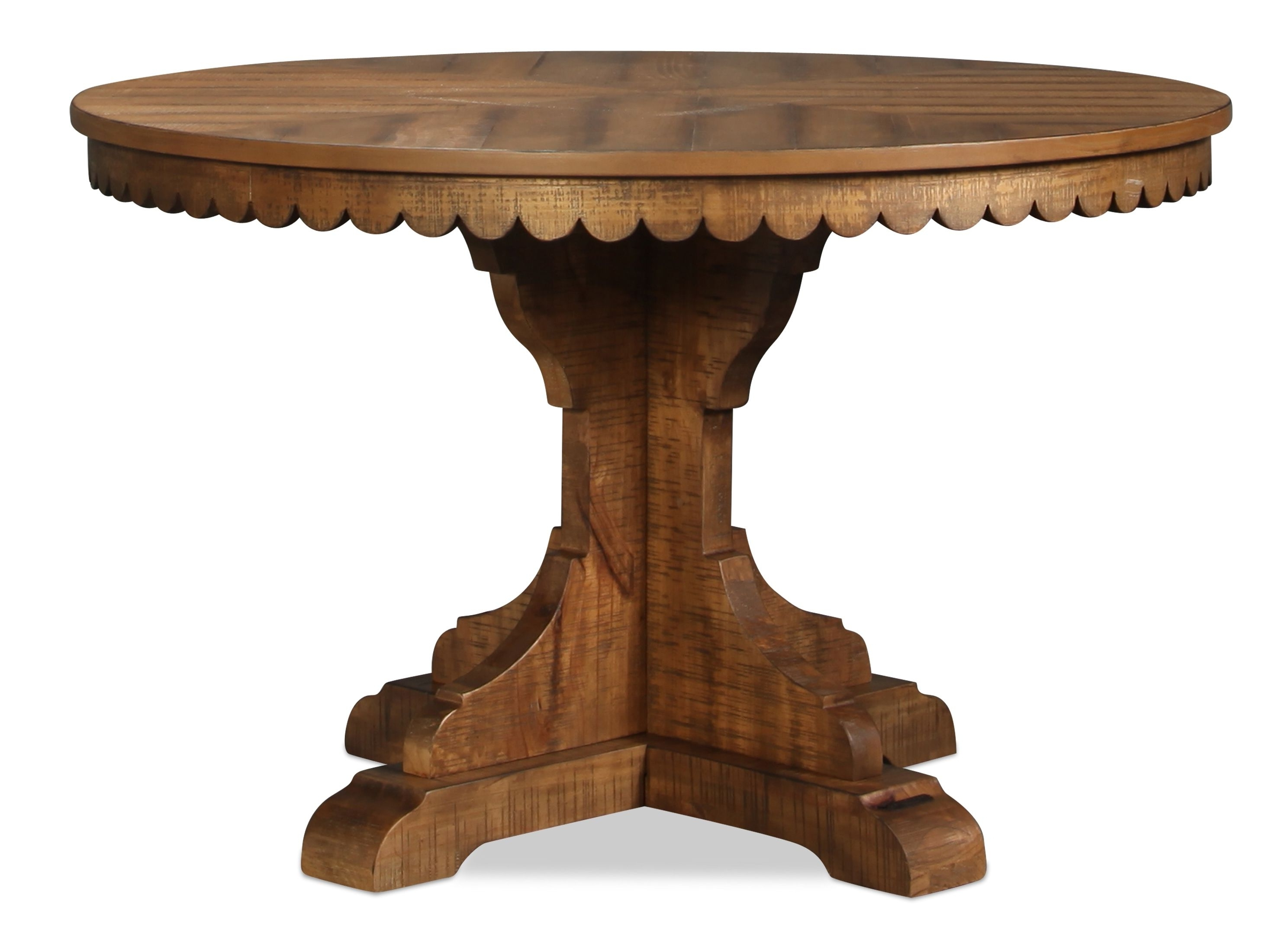 Perfect For Small Space Dining Or As A Breakfast Table, The Magnolia Regarding Current Magnolia Home Top Tier Round Dining Tables (View 22 of 25)