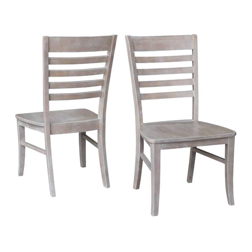 Perfect Gray Wood Dining Chair 2003 2018 Homestead Furniture All In Trendy Jaxon Grey 6 Piece Rectangle Extension Dining Sets With Bench & Wood Chairs (View 24 of 25)
