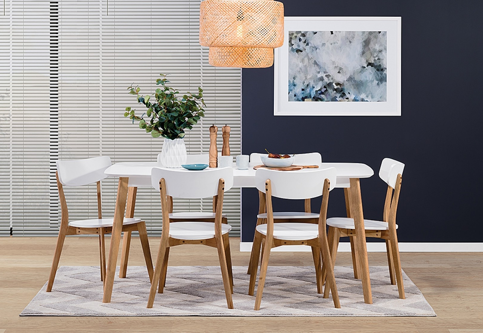 Perth White Dining Chairs For Trendy The Entertainer's Guide To Living And Dining Furniture (View 17 of 25)