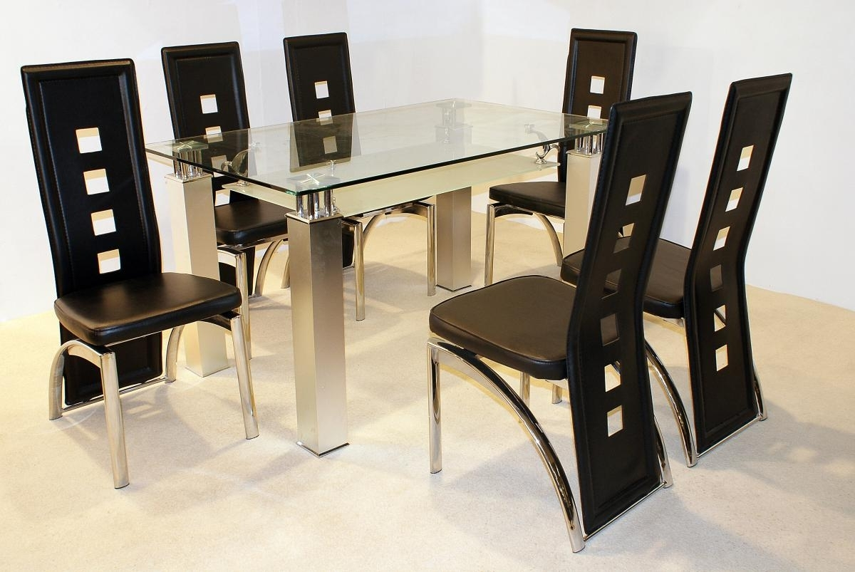 Phoenix Dining Tables With Well Known Phoenix Dining Chair Pu/chrome (View 19 of 25)