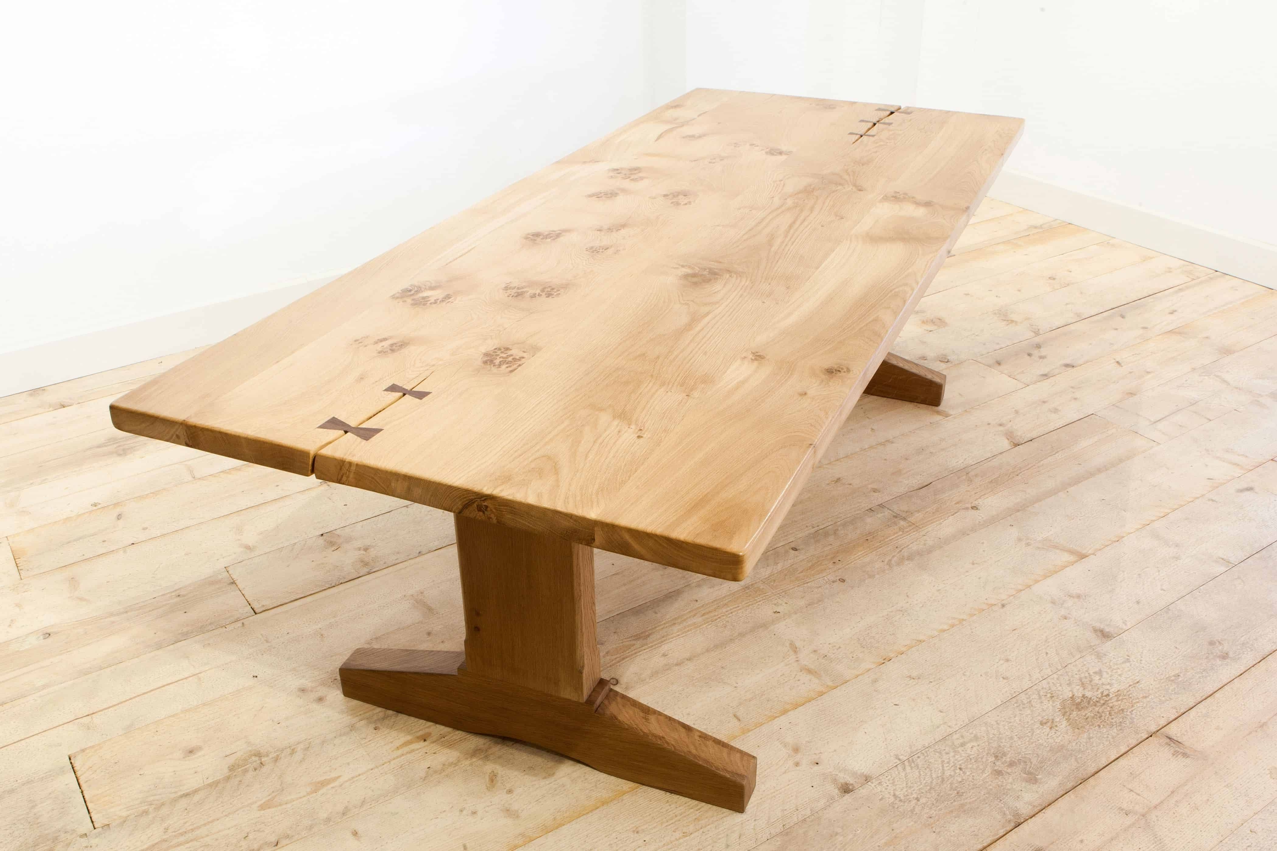Pinsteven Baker Furniture On Handmade Oak Tables And Furniture In 2017 Lassen Extension Rectangle Dining Tables (View 20 of 25)