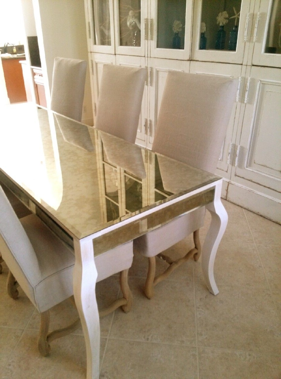 Pinterest In Antique Mirror Dining Tables (View 15 of 25)