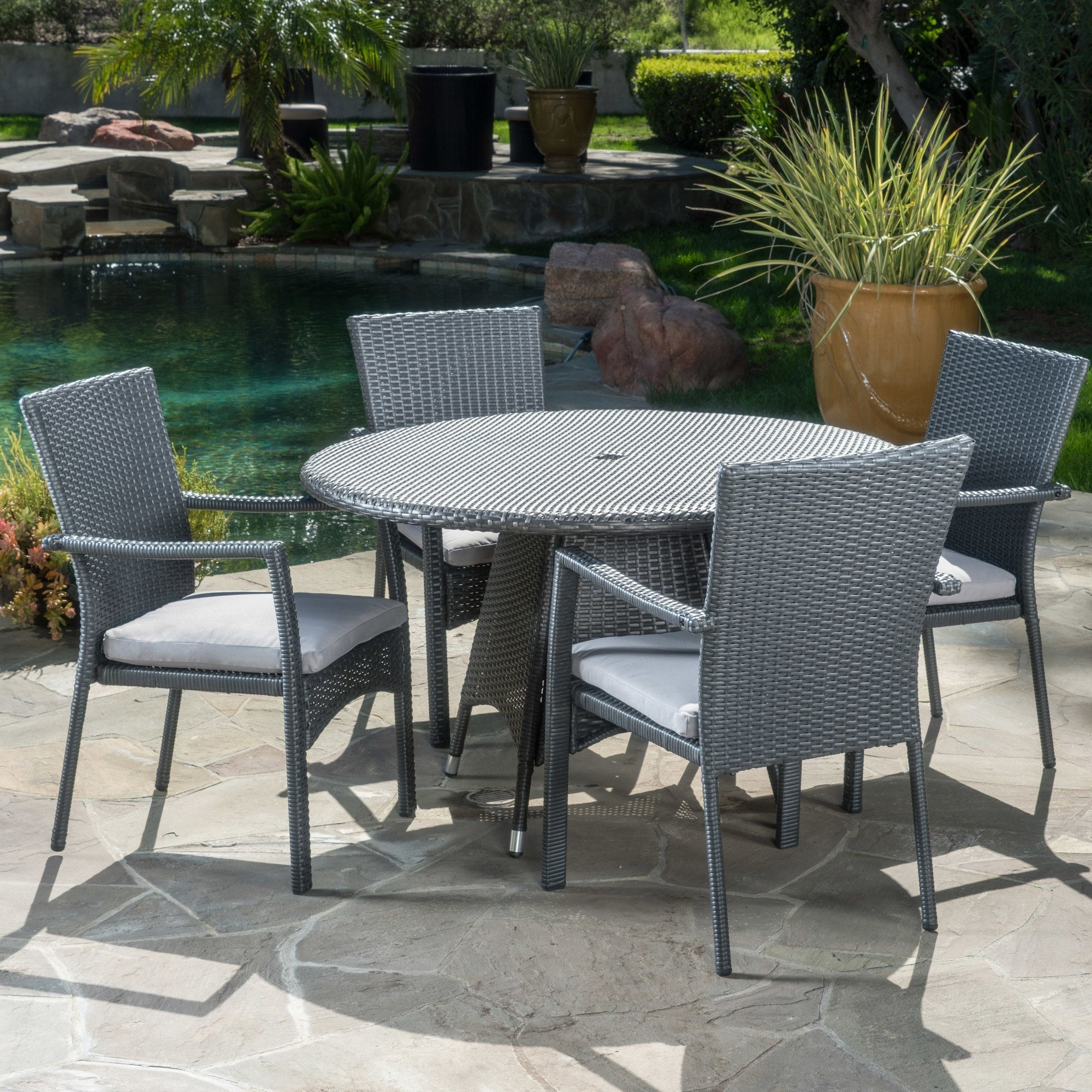 Pinterest Regarding Best And Newest Cora 5 Piece Dining Sets (View 22 of 25)