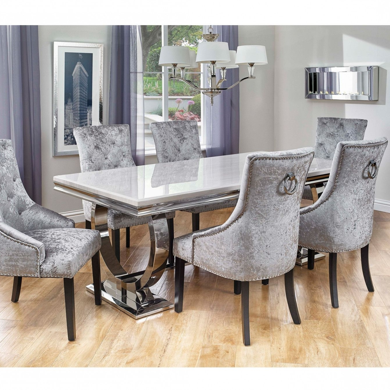Pinterest Regarding Famous 6 Chair Dining Table Sets (Gallery 9 of 25)