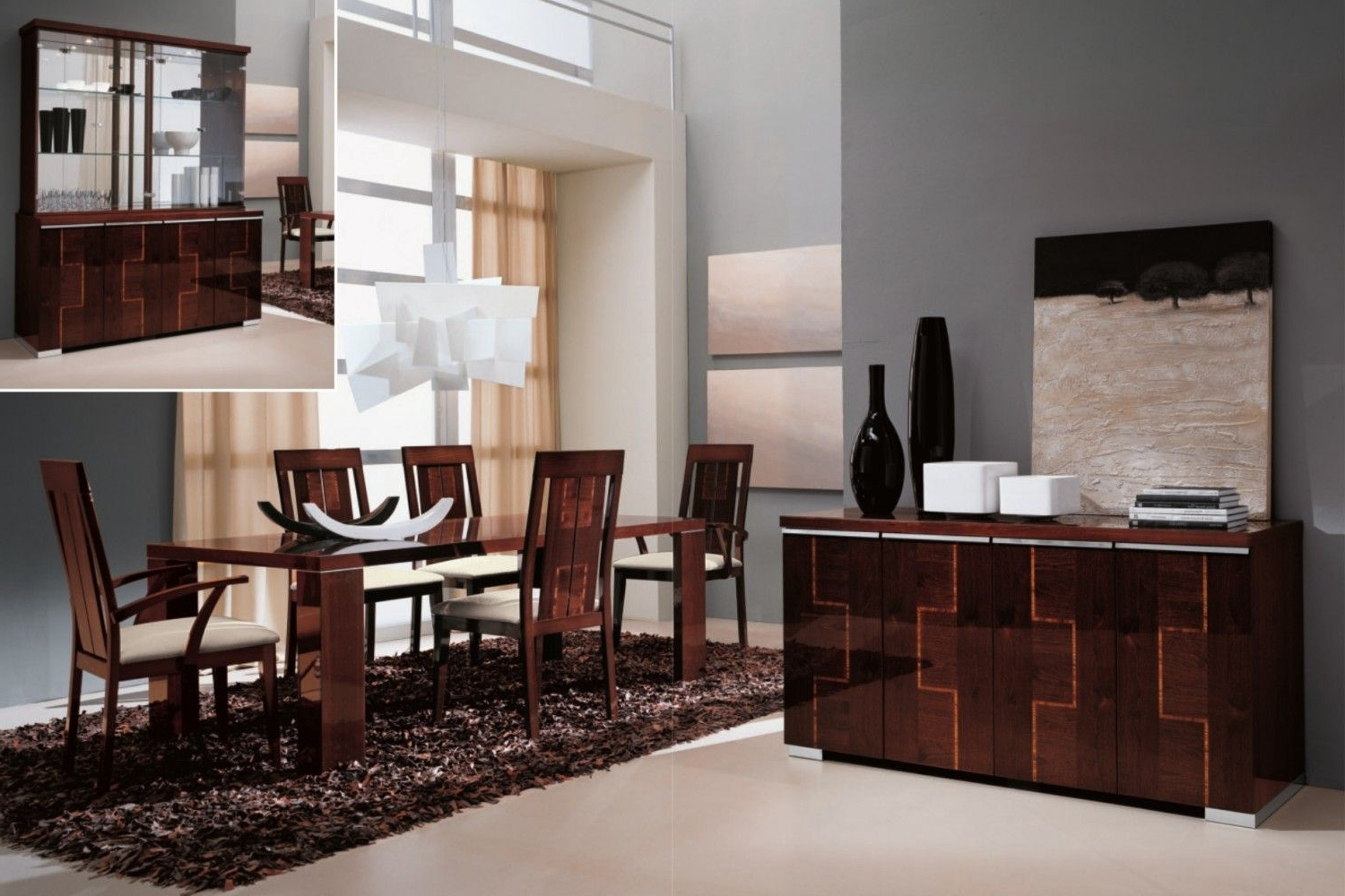 Pisa Dining Tables For Fashionable Pisa Dining Room Collectionalf+Da Fre (View 5 of 25)
