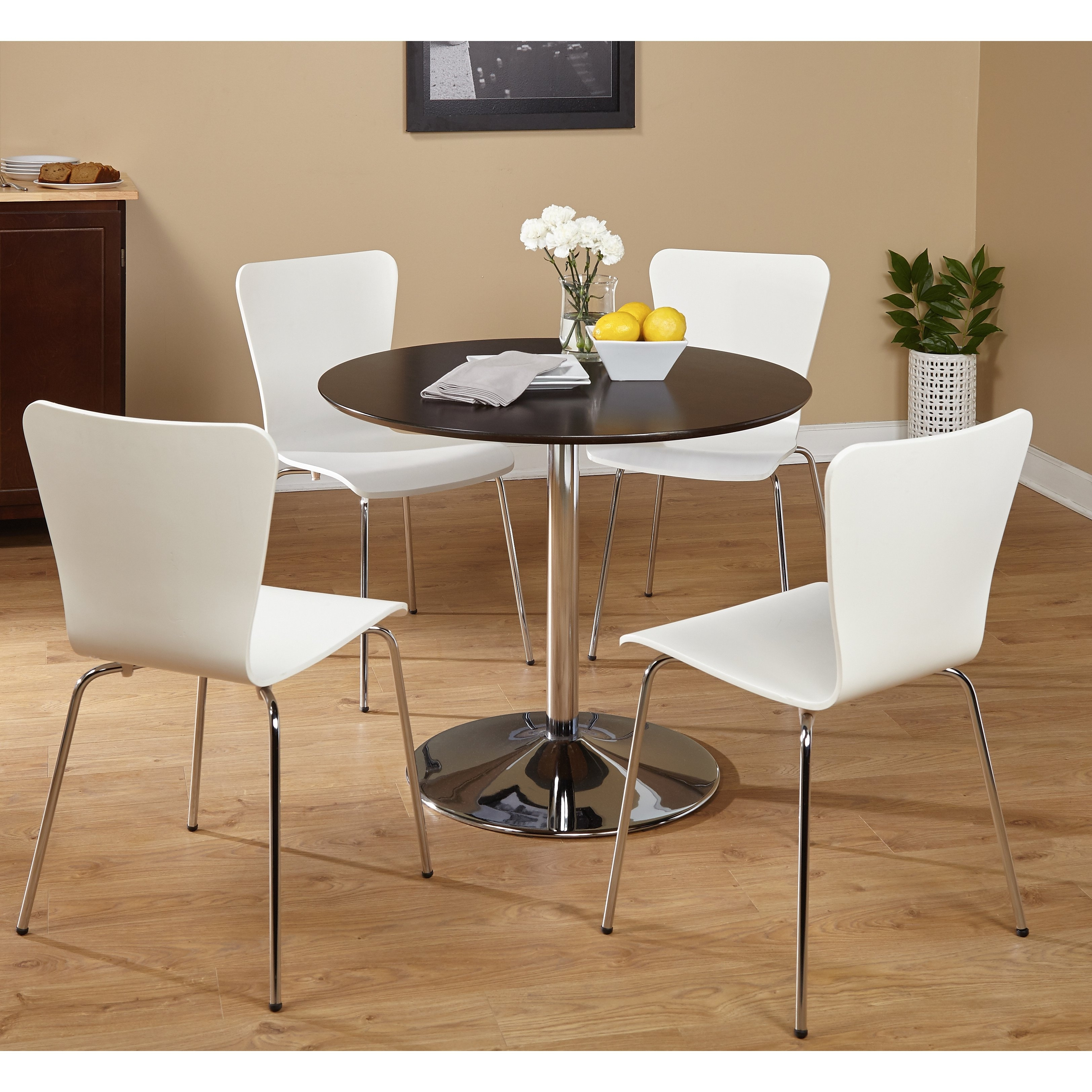 Pisa Dining Tables Throughout Preferred Shop Five Piece Pisa Dining Set – Free Shipping Today – Overstock (View 3 of 25)