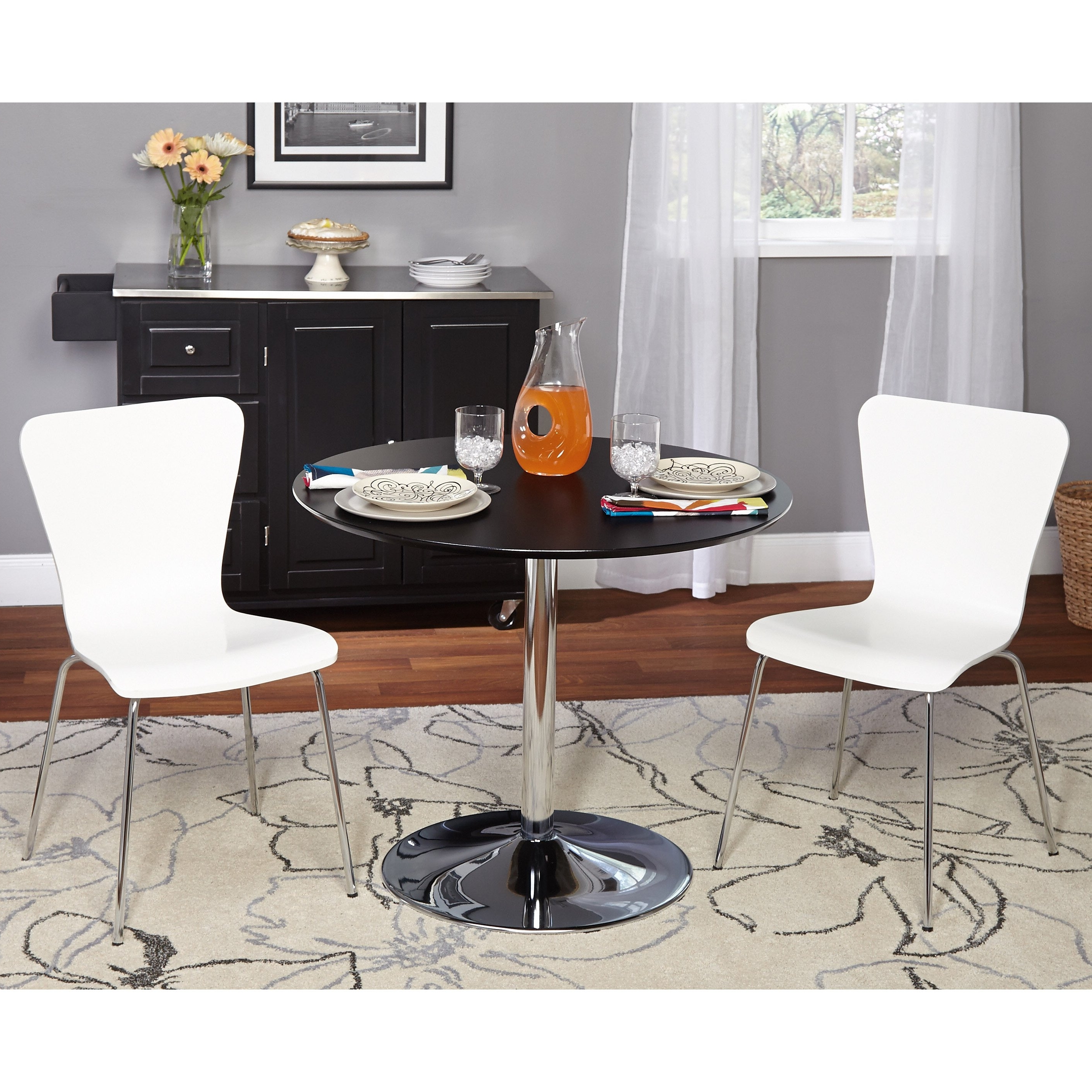 Pisa Dining Tables With Regard To Trendy Shop Simple Living 3 Piece Pisa Dining Set – Free Shipping Today (View 14 of 25)