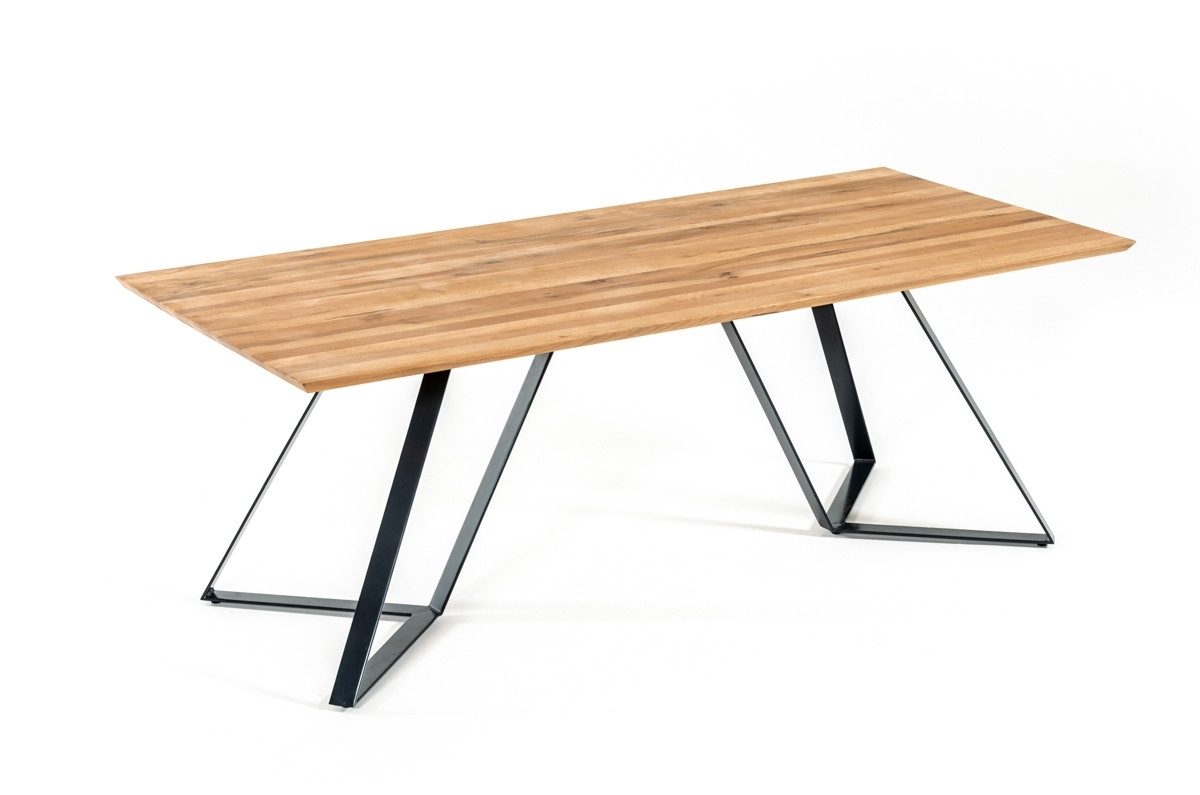 Pisa Dining Tables Within Well Known Nova Domus Pisa Modern Drift Oak Dining Table (View 18 of 25)