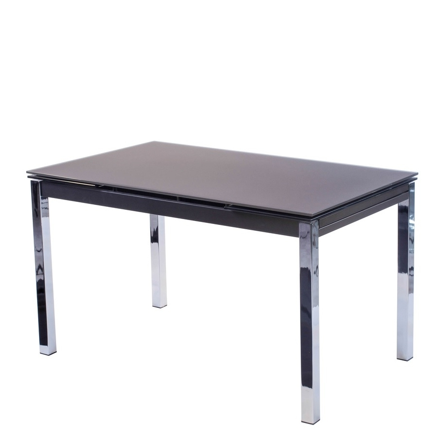 Pisa Frosted Glass Dining Table – House Of Denmark House Of Denmark Pertaining To Widely Used Pisa Dining Tables (View 20 of 25)
