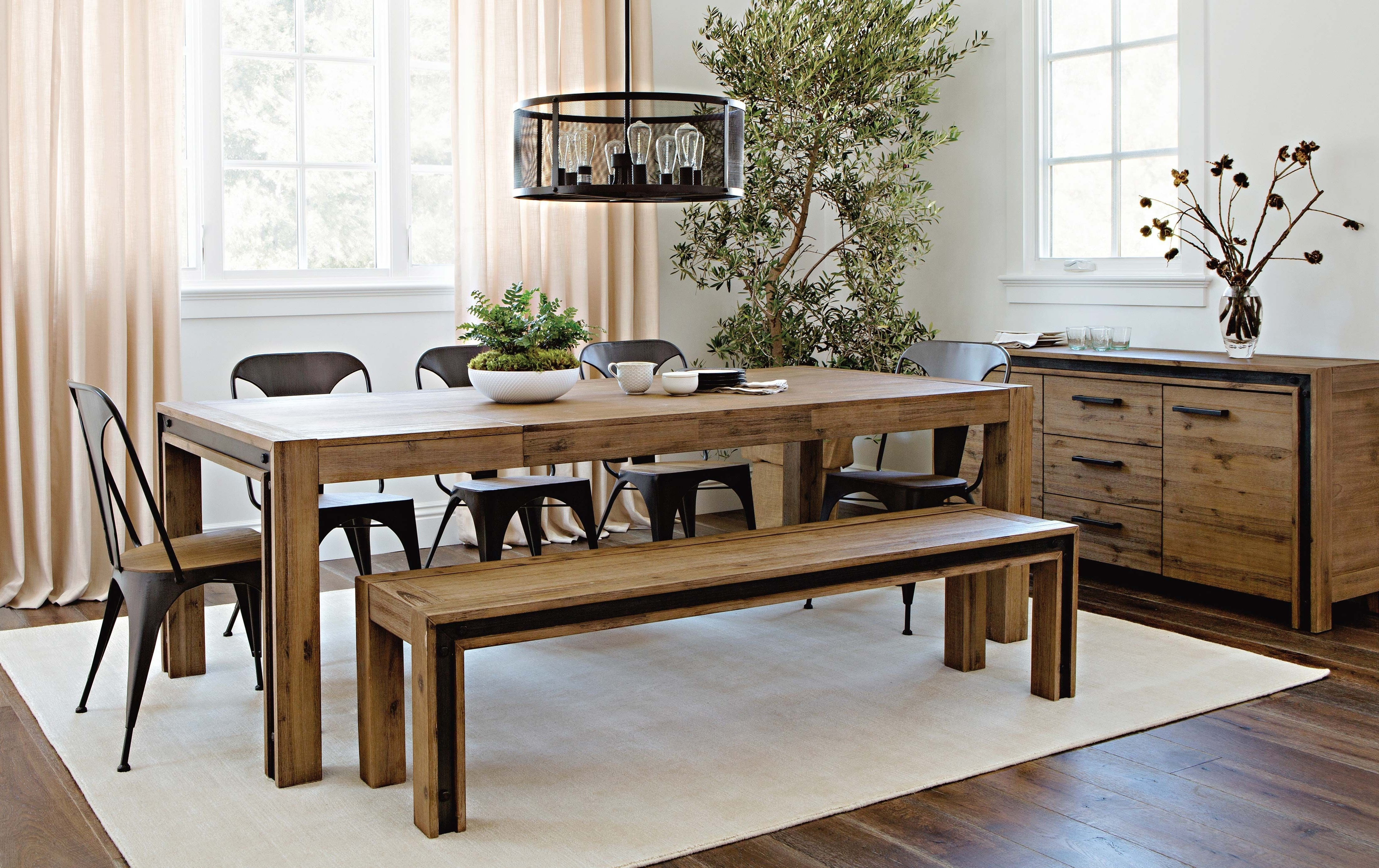 Featured Photo of Amos Extension Dining Tables