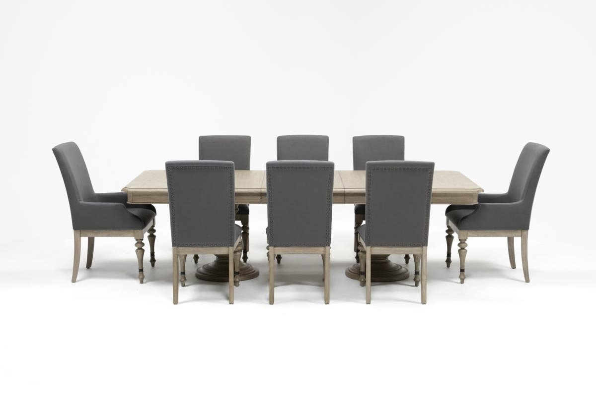 Popular Caira 9 Piece Extension Dining Set (View 22 of 25)