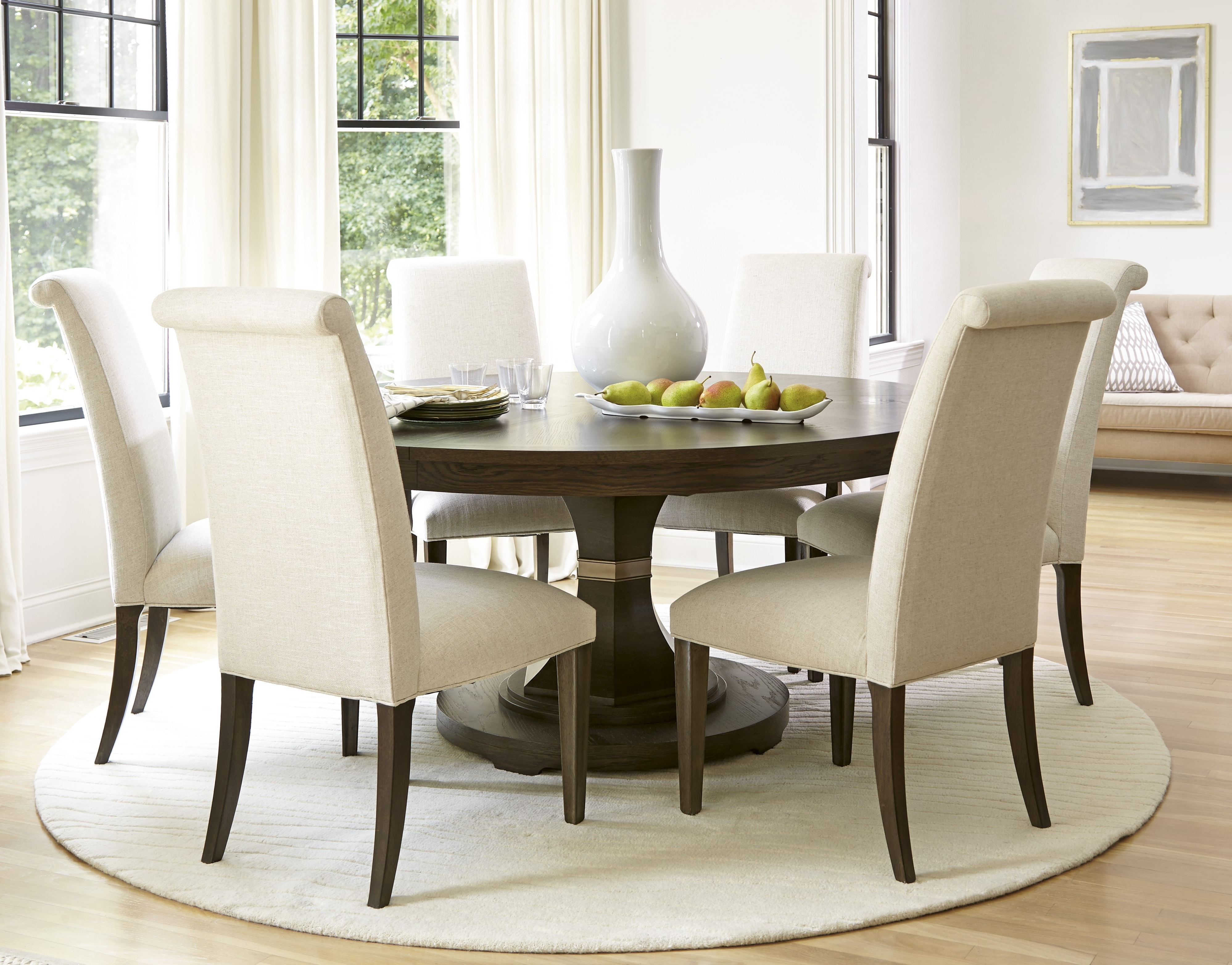 Popular Classy Circular Dining Room Tables 27 – Esescatrina In Circular Dining Tables For  (View 19 of 25)