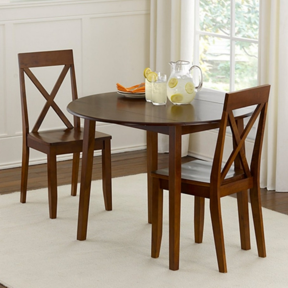Popular Dining Room Dining Sets For Small Rooms Compact Dining Table Chairs With Regard To Small Dining Tables And Chairs (View 16 of 25)