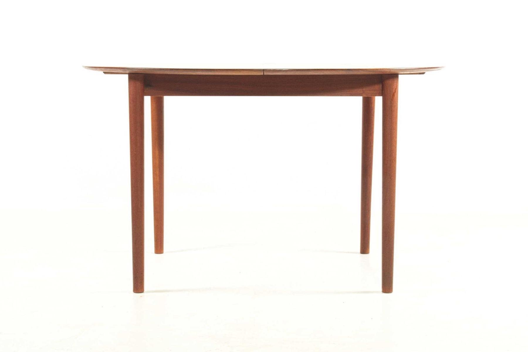 Popular Extendable Dining Tablepeter Hvidt For Søborg Møbelfabrik, 1950S Inside Lassen Extension Rectangle Dining Tables (View 21 of 25)